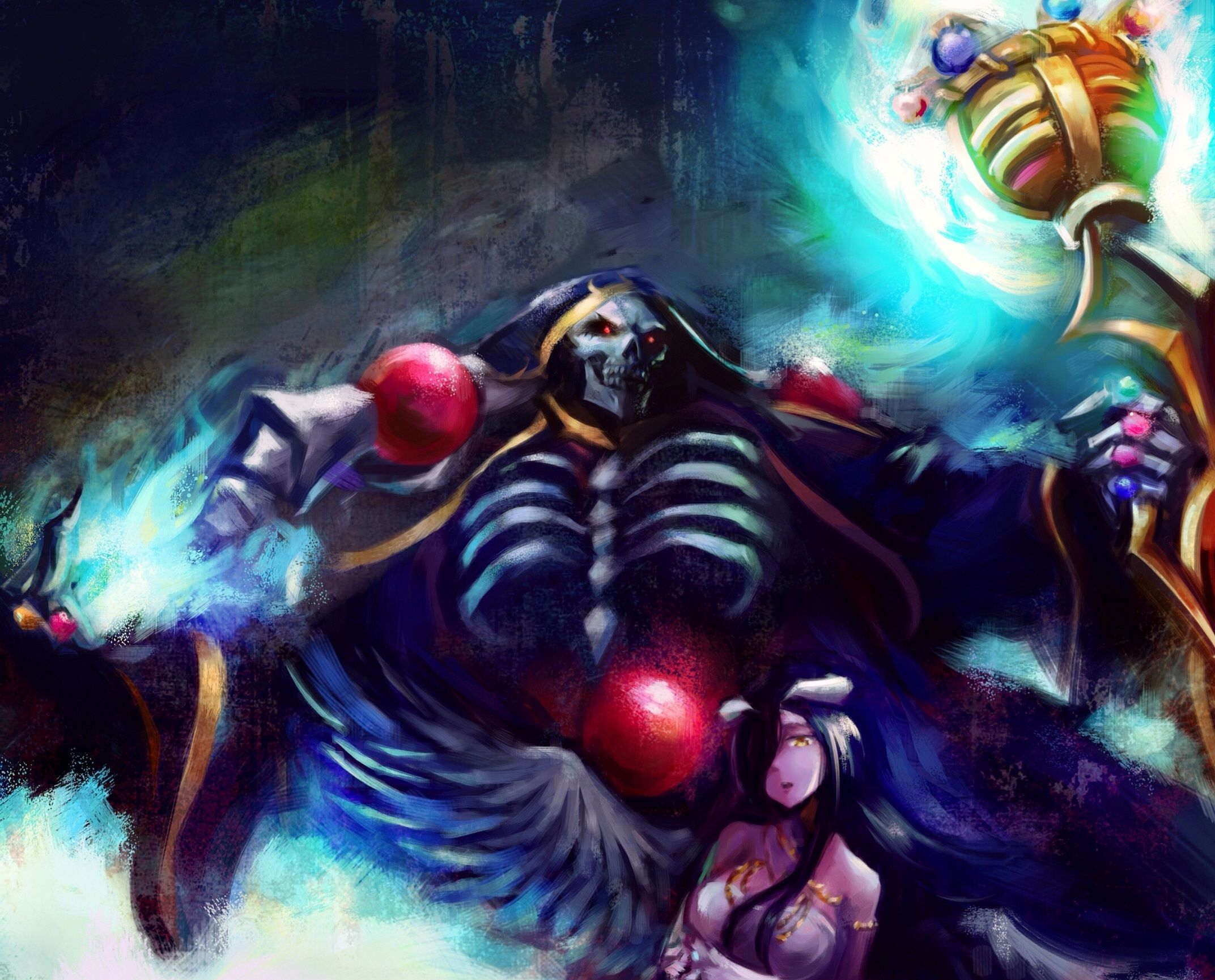 Ainz Ooal Gown Wallpapers Top Free Ainz Ooal Gown Backgrounds Wallpaperaccess