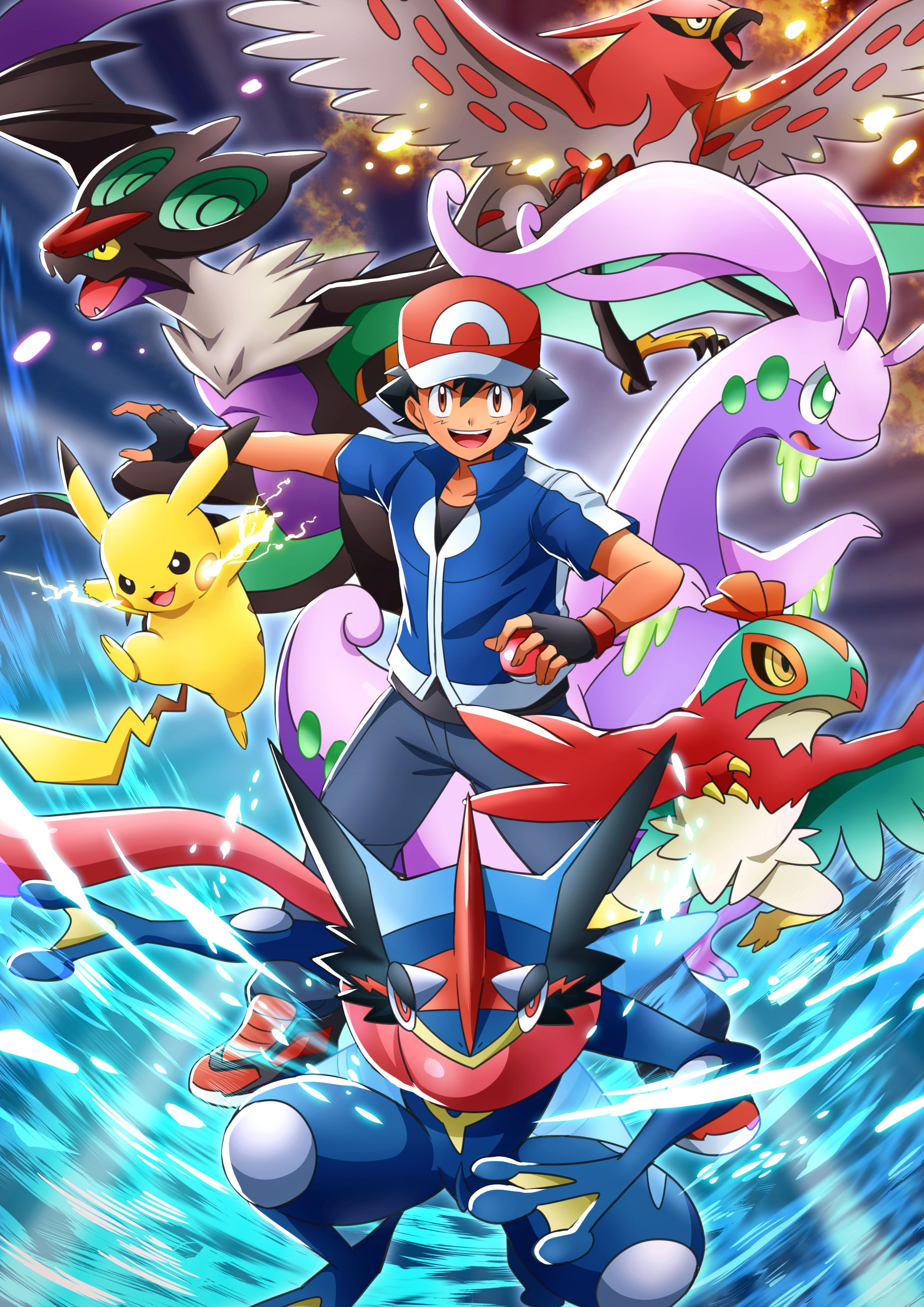 Pokemon Ash Greninja Wallpapers - Top Free Pokemon Ash ...