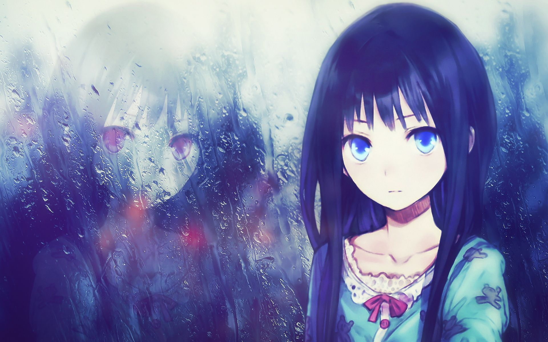 Lonely Anime Girl Wallpapers Top Free Lonely Anime Girl Backgrounds Wallpaperaccess