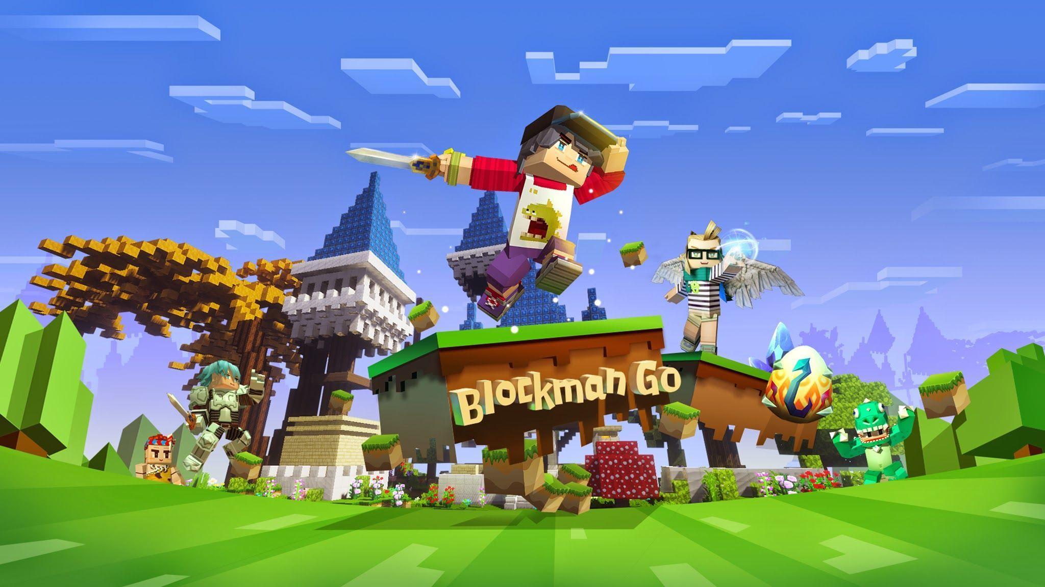Blockman Go Wallpapers Top Free Blockman Go Backgrounds Wallpaperaccess