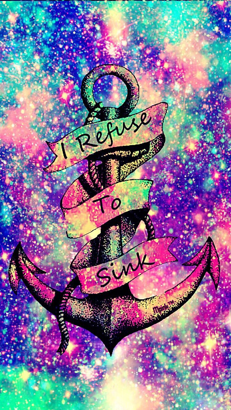 Girly anchor wallpapers top free girly anchor - Galaxy wallpaper for girls ...