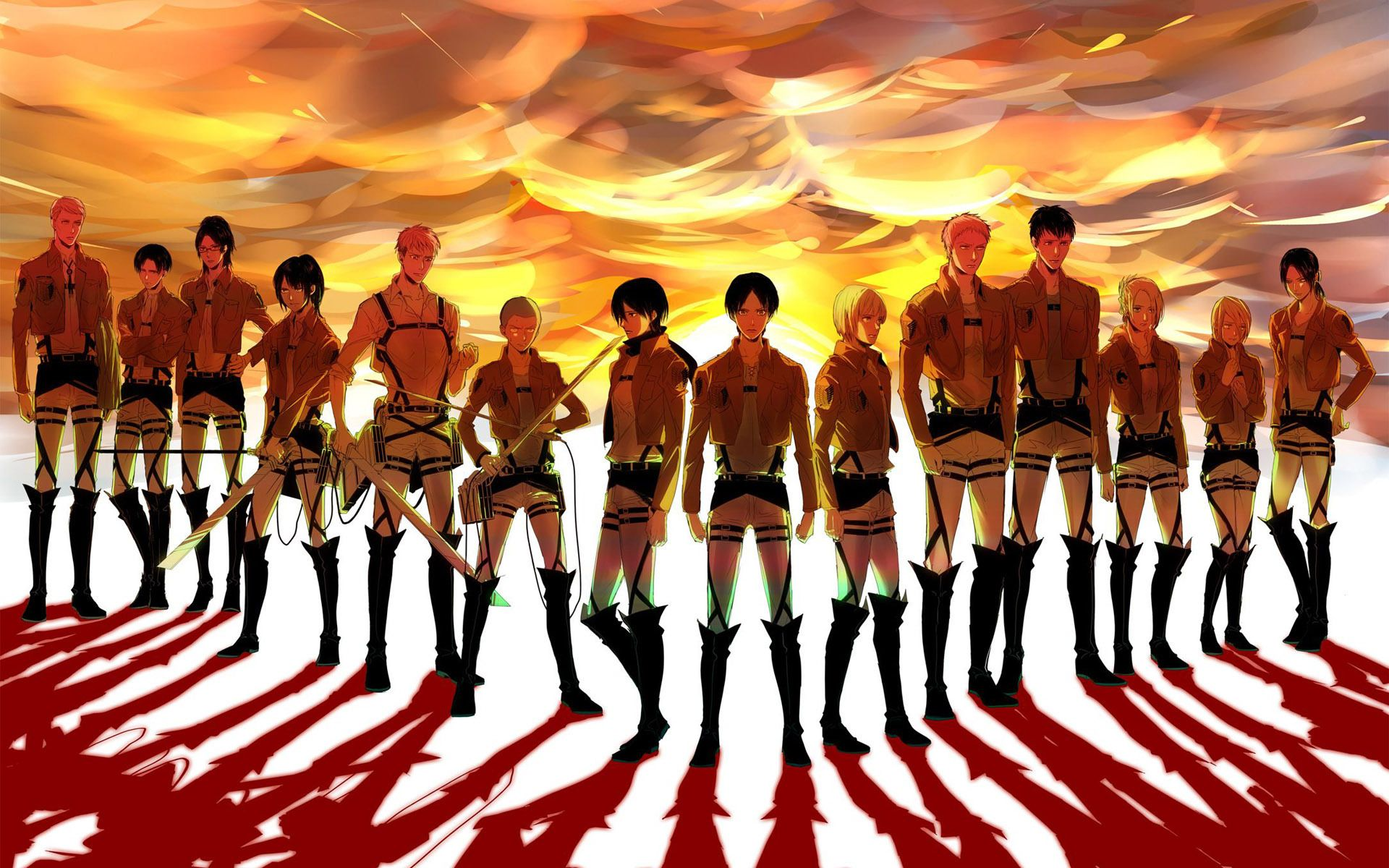 Attack On Titan Desktop Wallpapers Top Free Attack On Titan Desktop Backgrounds Wallpaperaccess