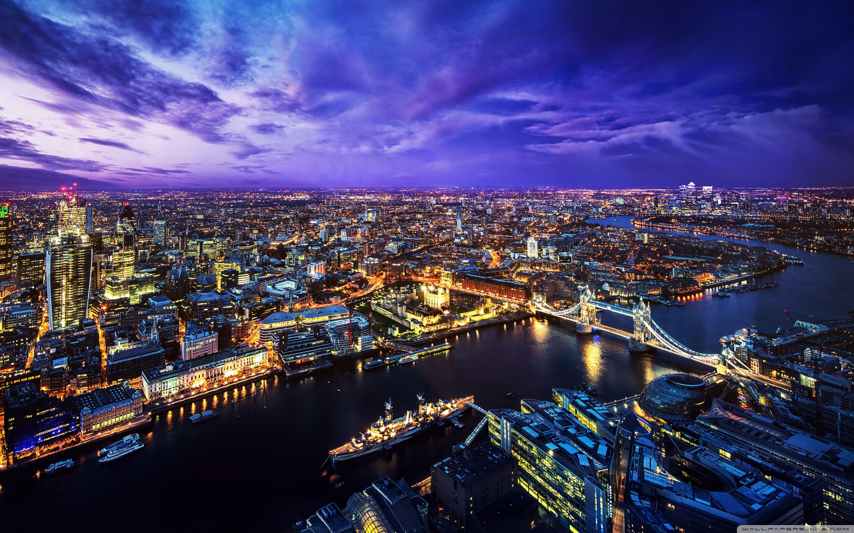London Skyline At Night Wallpapers Top Free London Skyline