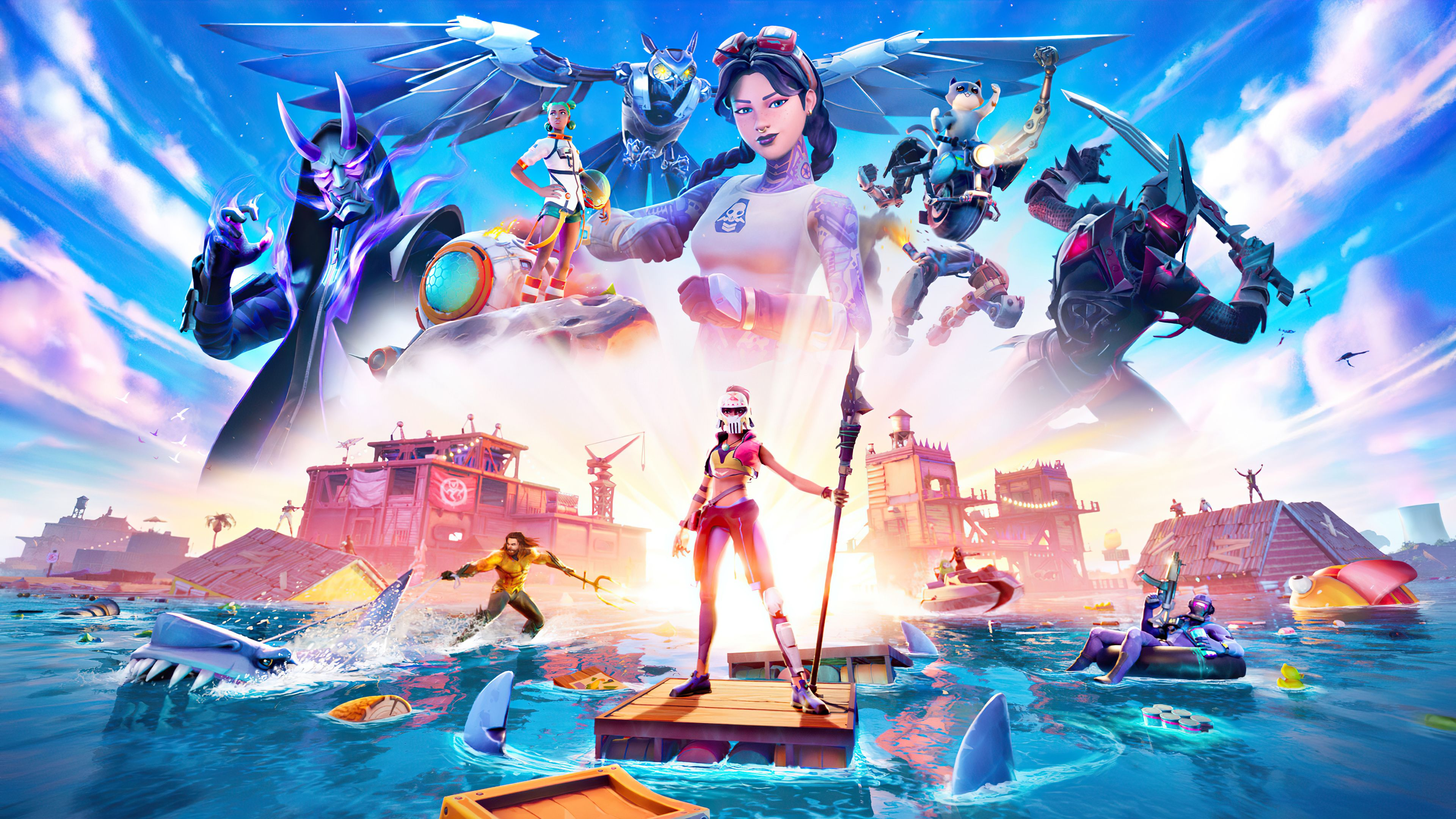 Fortnite Season 4 Chapter 2 Wallpapers Top Free Fortnite Season 4 Chapter 2 Backgrounds Wallpaperaccess