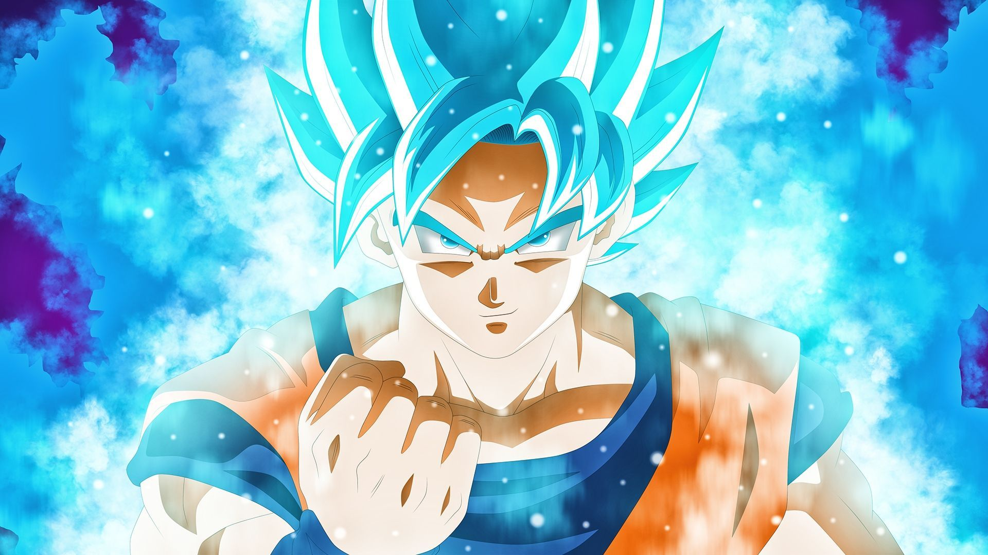 Blue Super Saiyan Goku Wallpapers Top Free Blue Super Saiyan Goku Backgrounds Wallpaperaccess