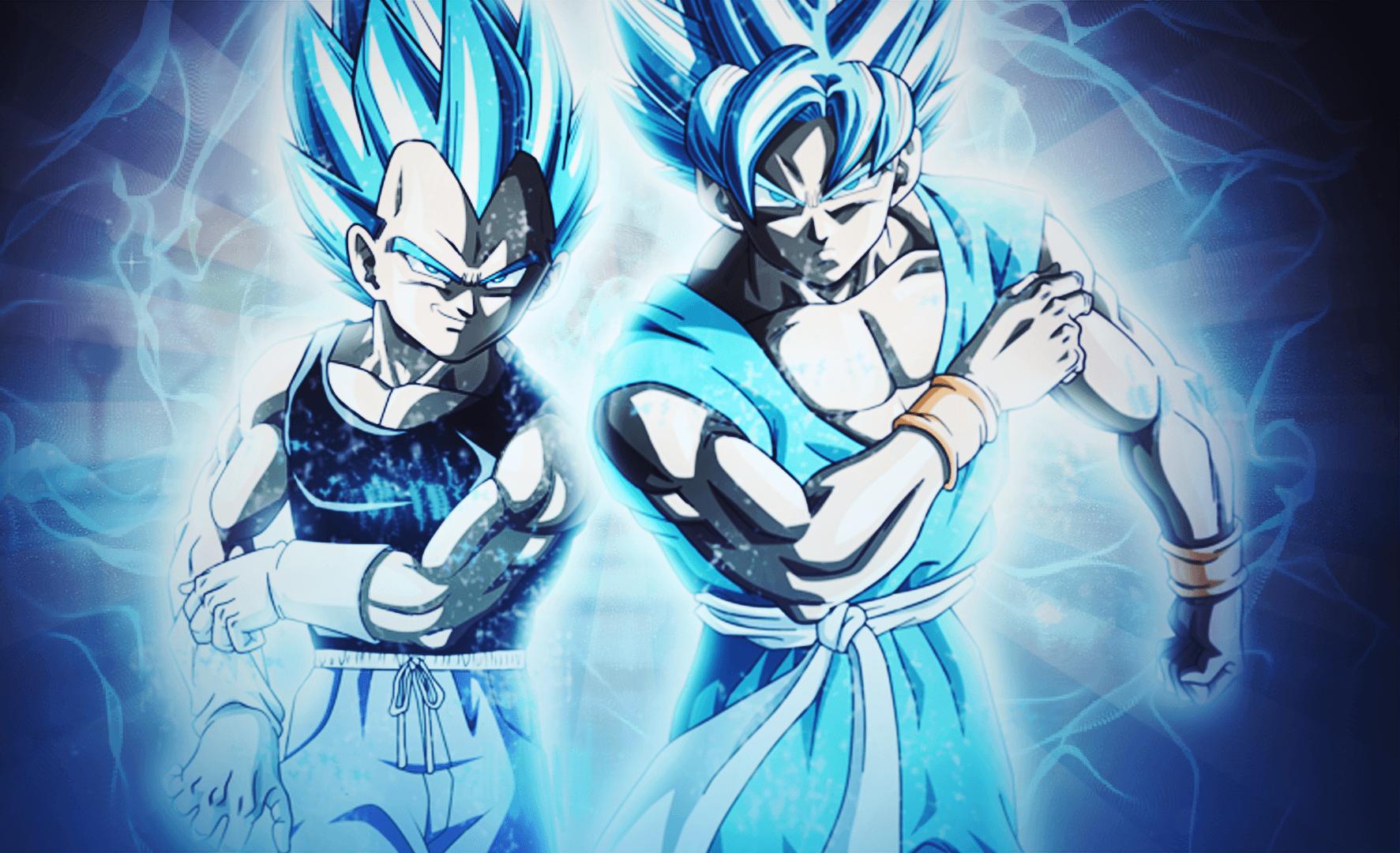 Blue Super Saiyan Goku Wallpapers Top Free Blue Super