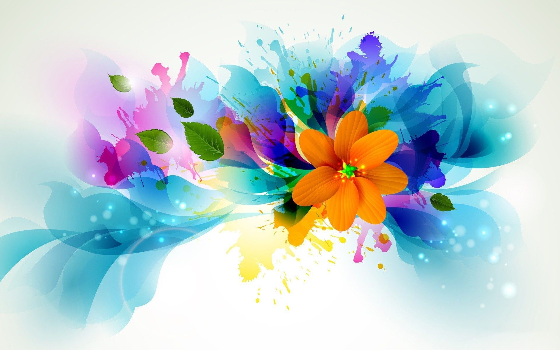 Flower Art Desktop Wallpapers - Top Free Flower Art Desktop Backgrounds -  WallpaperAccess