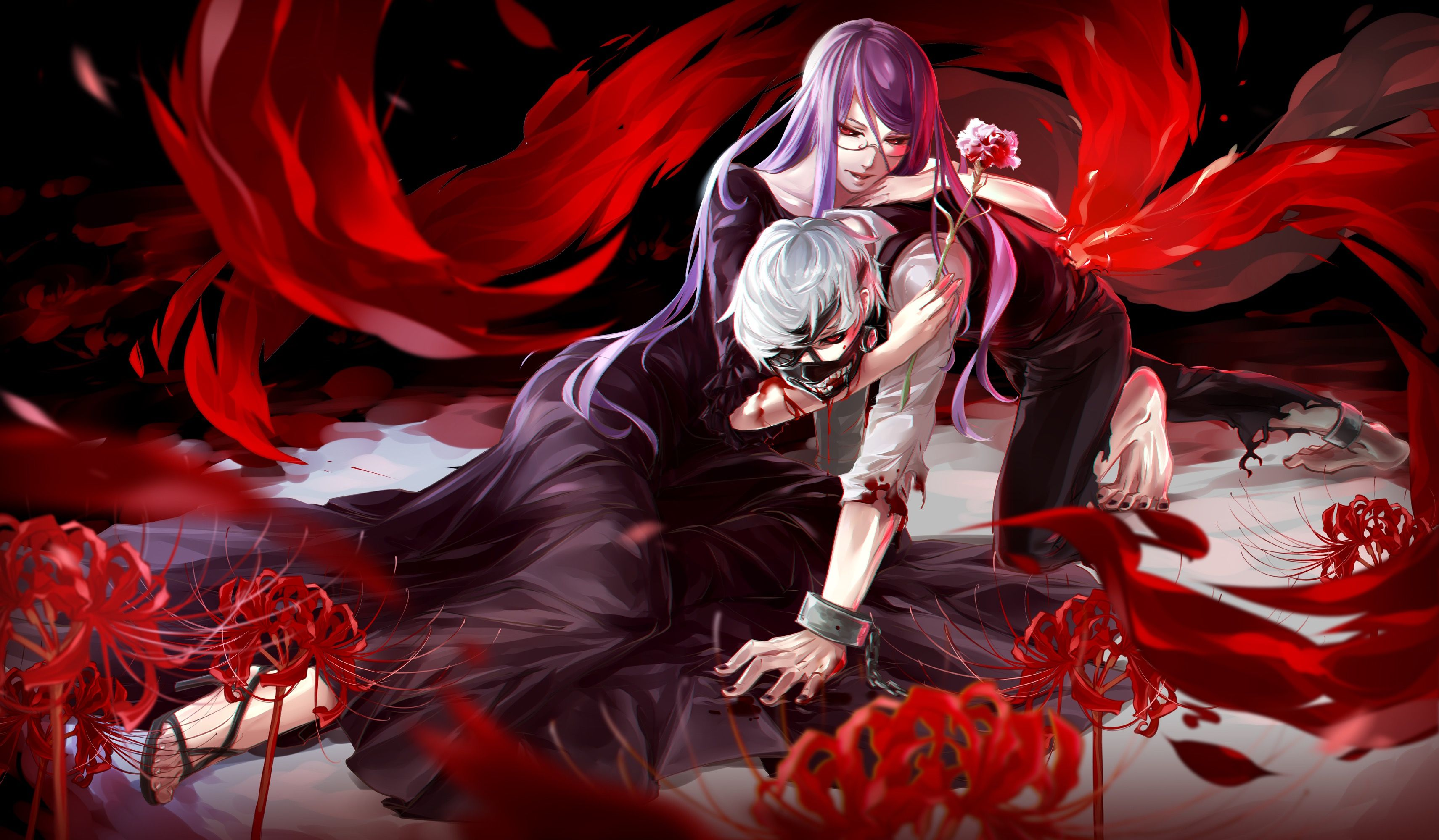 Tokyo Ghoul Laptop Wallpapers Top Free Tokyo Ghoul Laptop Backgrounds Wallpaperaccess