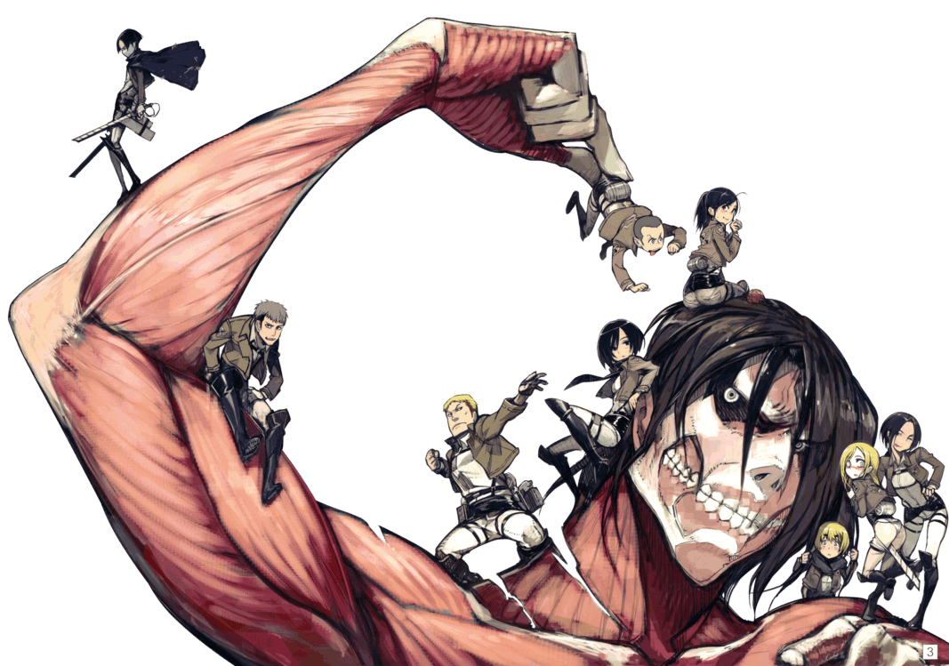 Attack On Titan Cute Wallpapers Top Free Attack On Titan Cute Backgrounds Wallpaperaccess
