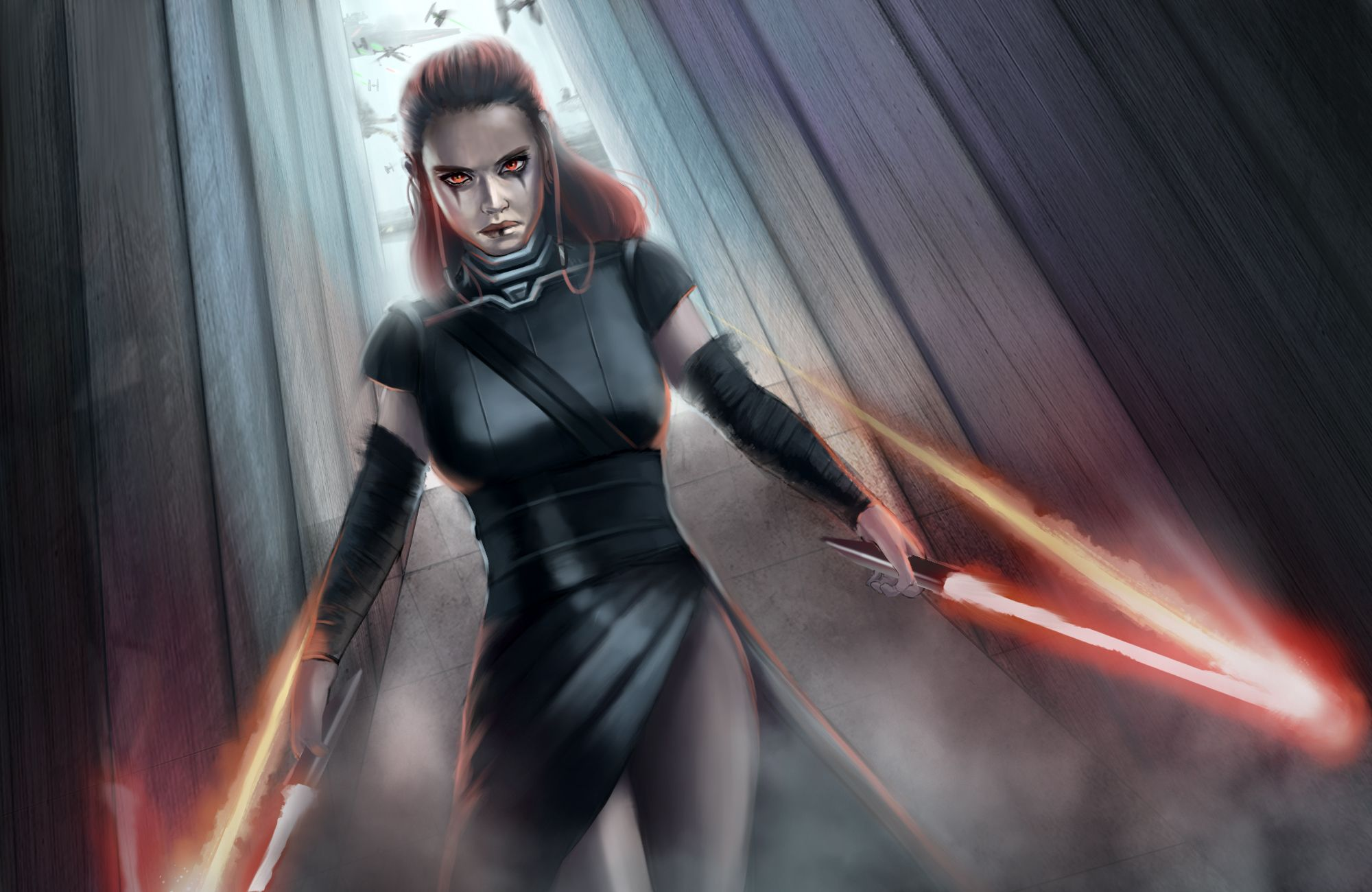 Star Wars Girl Wallpapers Top Free Star Wars Girl Backgrounds Wallpaperaccess