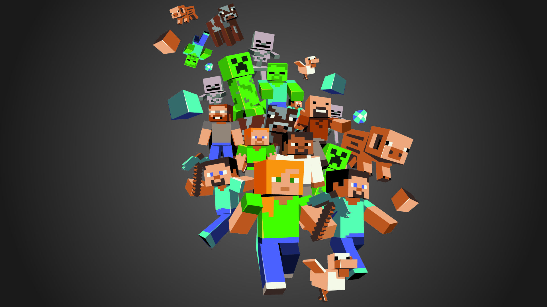 Cute Minecraft Wallpapers Top Free Cute Minecraft Backgrounds Wallpaperaccess