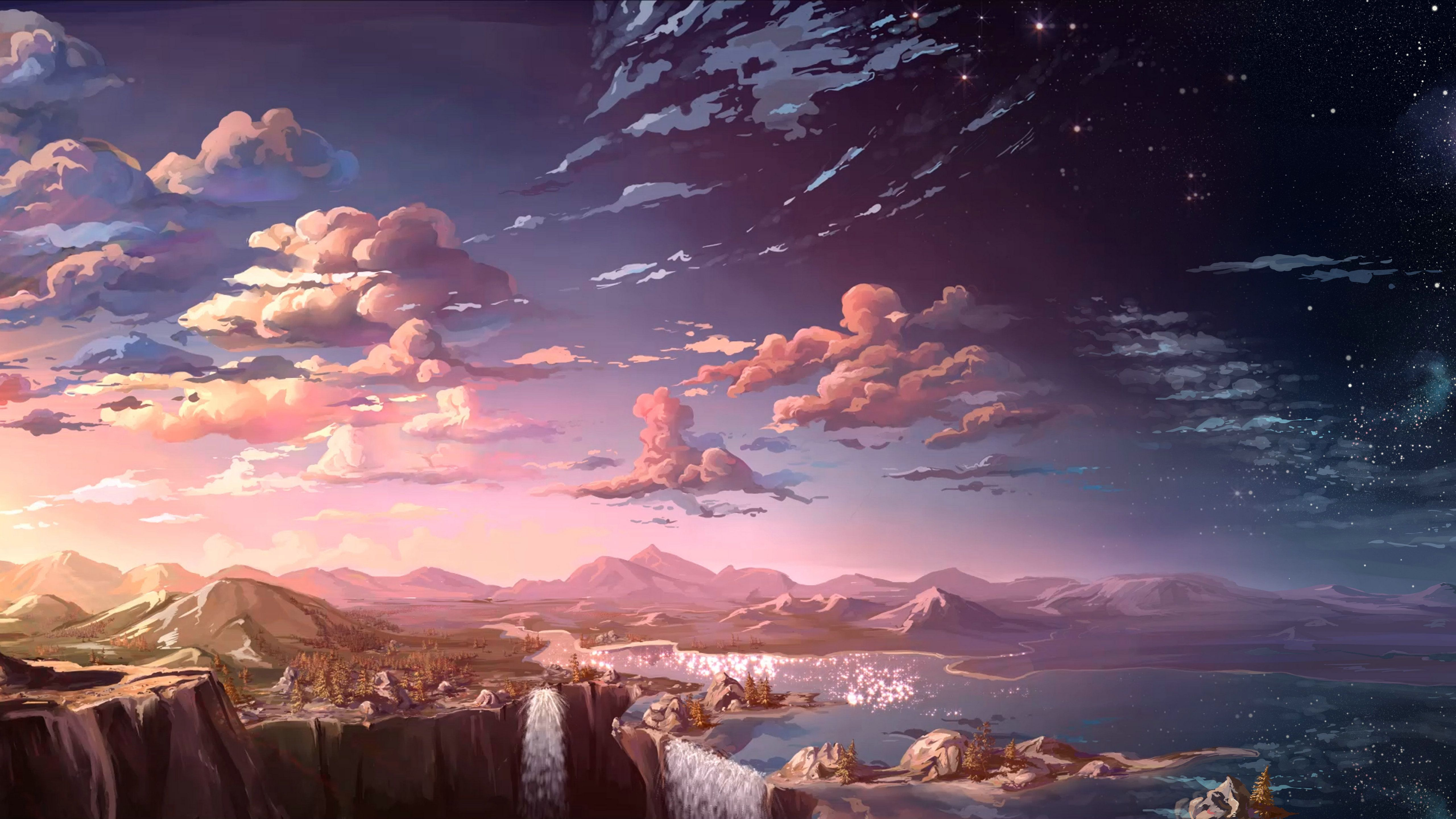 Anime Scenery Wallpapers Top Free Anime Scenery