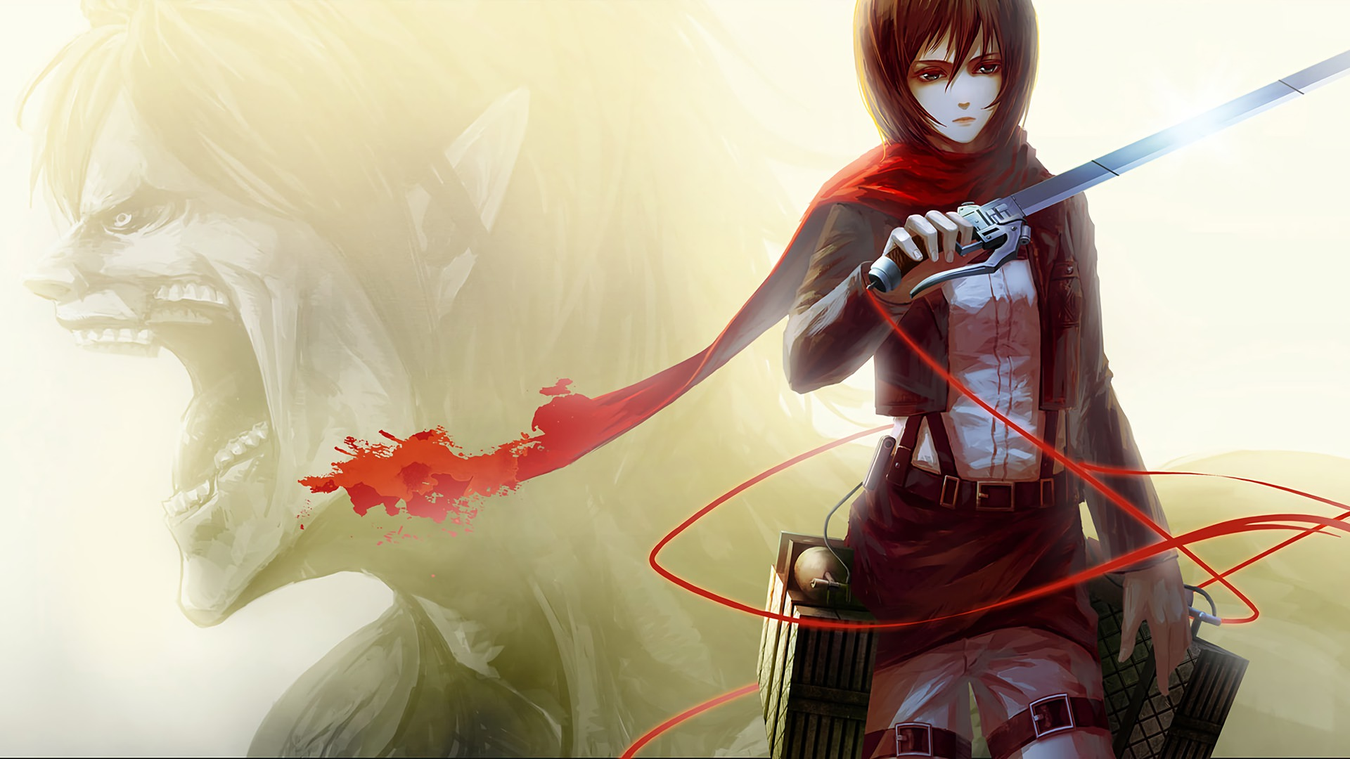 Attack On Titan Mikasa Wallpapers Top Free Attack On Titan Mikasa