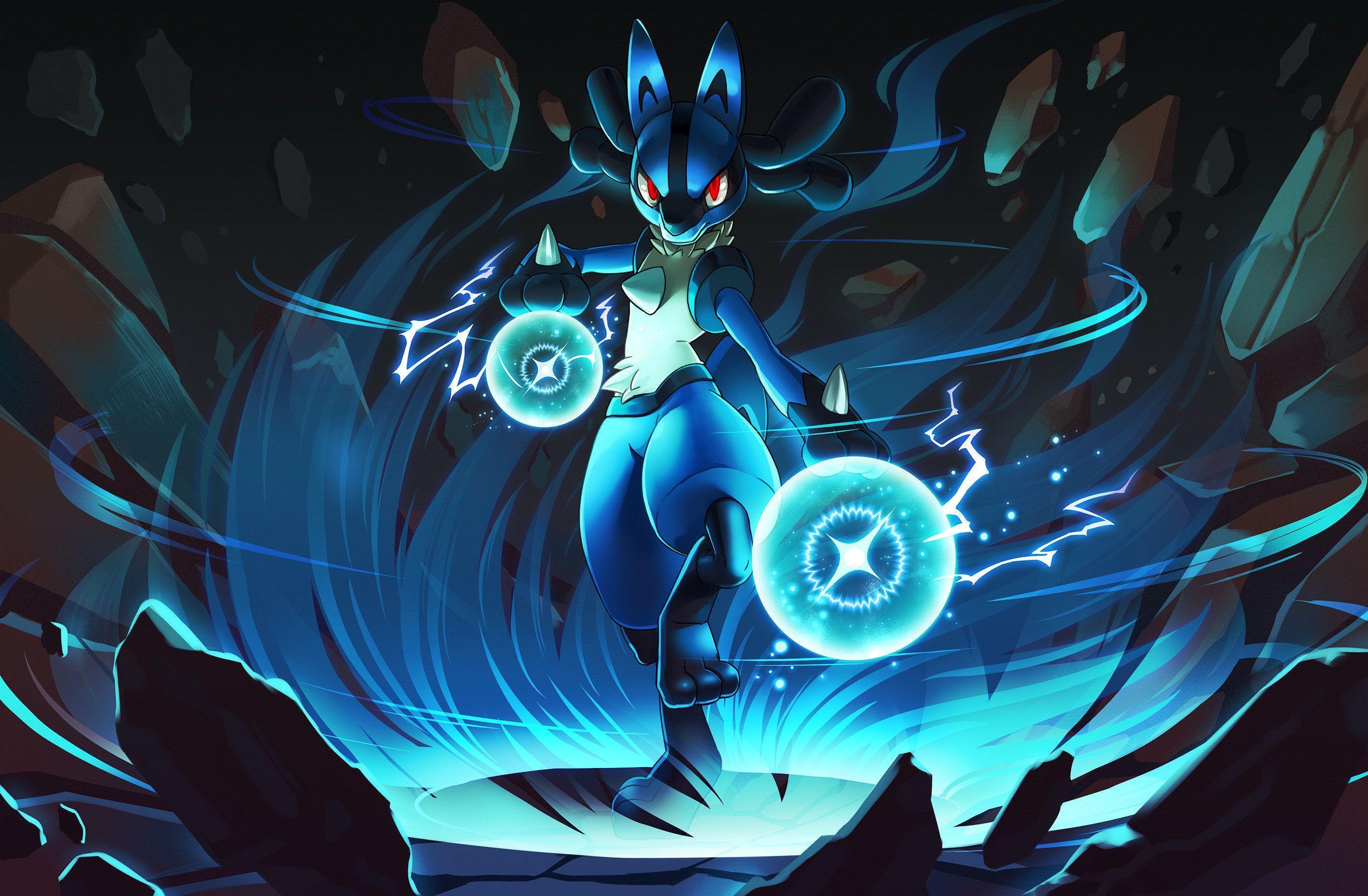 Pokemon Lucario Wallpapers Top Free Pokemon Lucario Backgrounds Wallpaperaccess