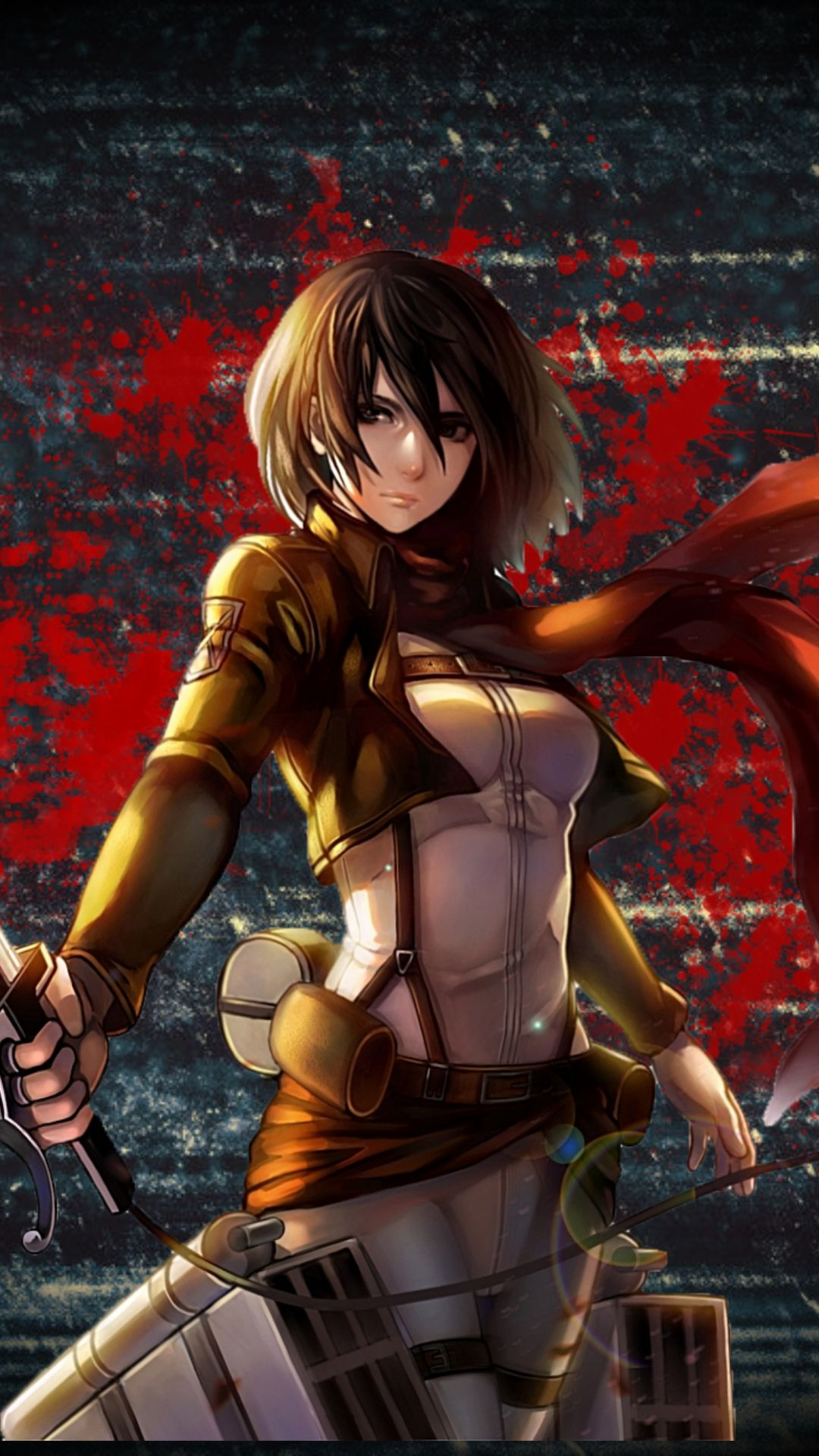 Attack On Titan Mikasa Wallpapers Top Free Attack On Titan Mikasa Backgrounds Wallpaperaccess