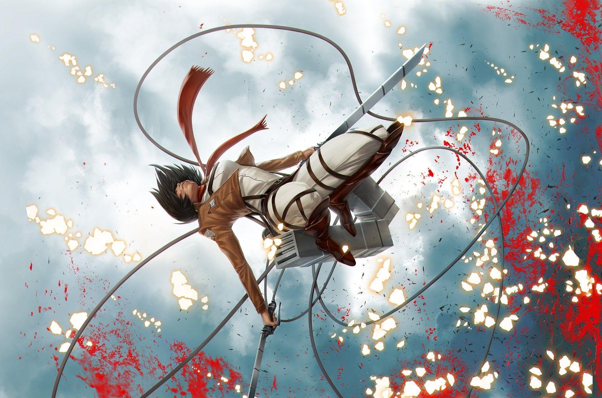 Attack On Titan Mikasa Wallpapers Top Free Attack On Titan Mikasa Backgrounds Wallpaperaccess