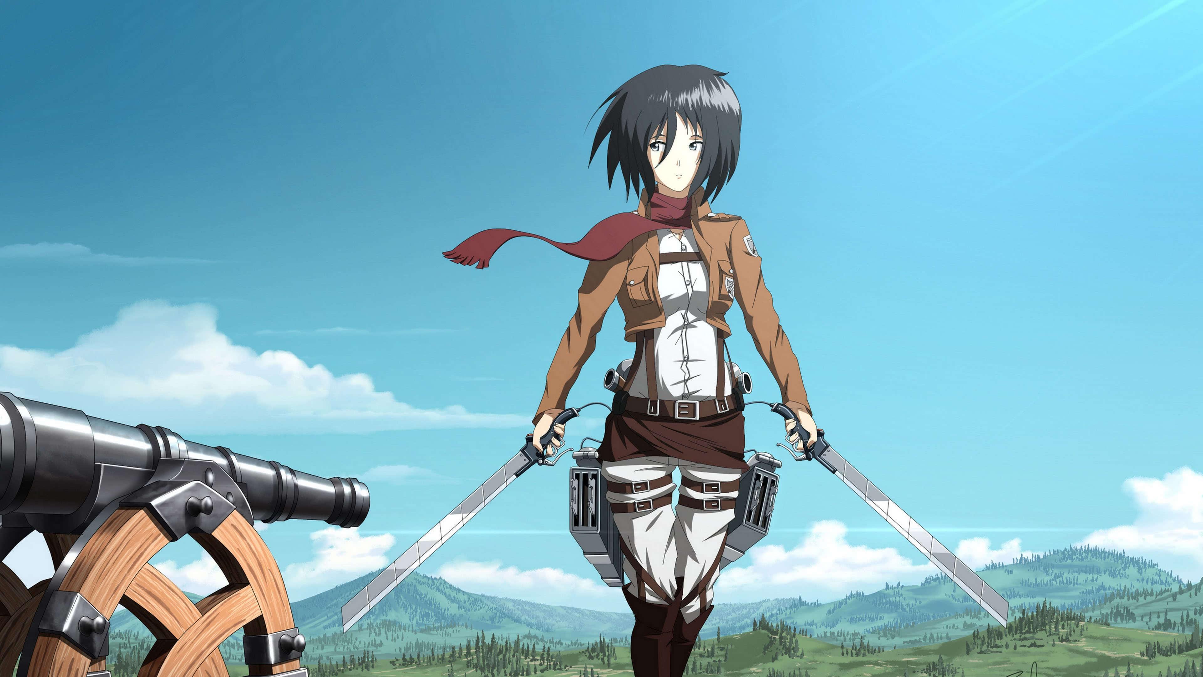 Attack On Titan Mikasa Wallpapers Top Free Attack On Titan