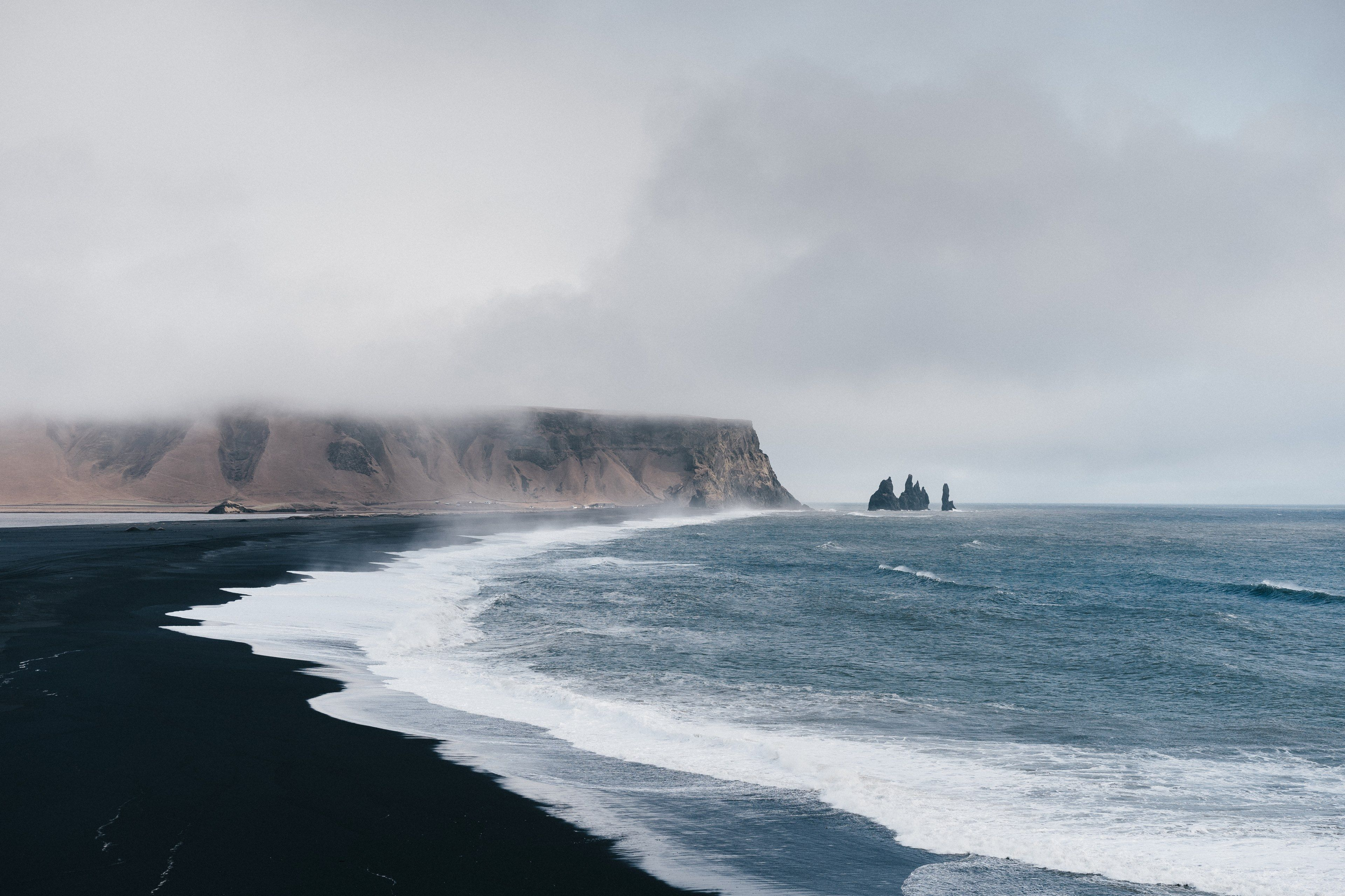 Iceland Beach Wallpapers Top Free Iceland Beach Backgrounds Wallpaperaccess