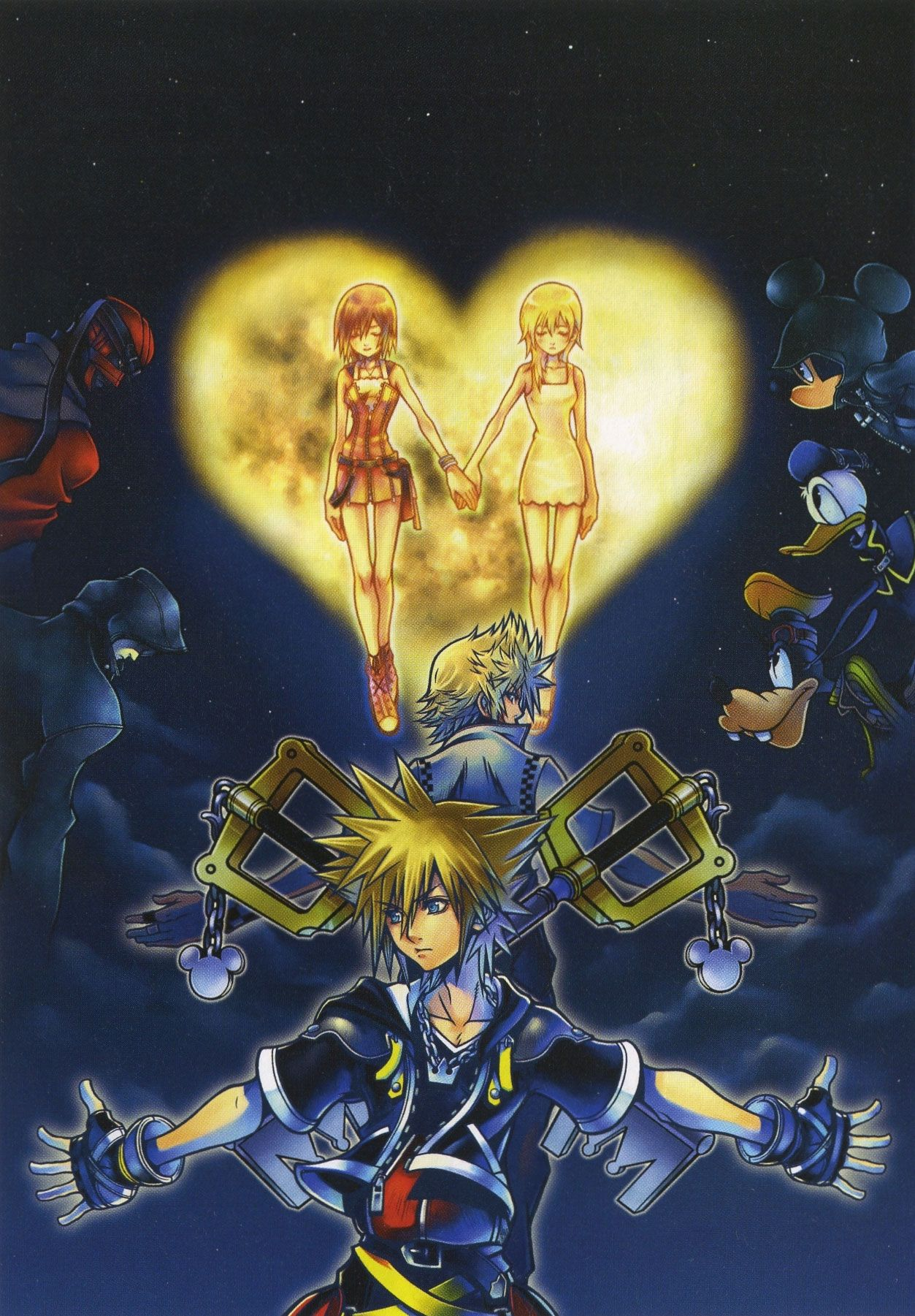 Kingdom Hearts Mobile Wallpapers Top Free Kingdom Hearts Mobile Backgrounds Wallpaperaccess
