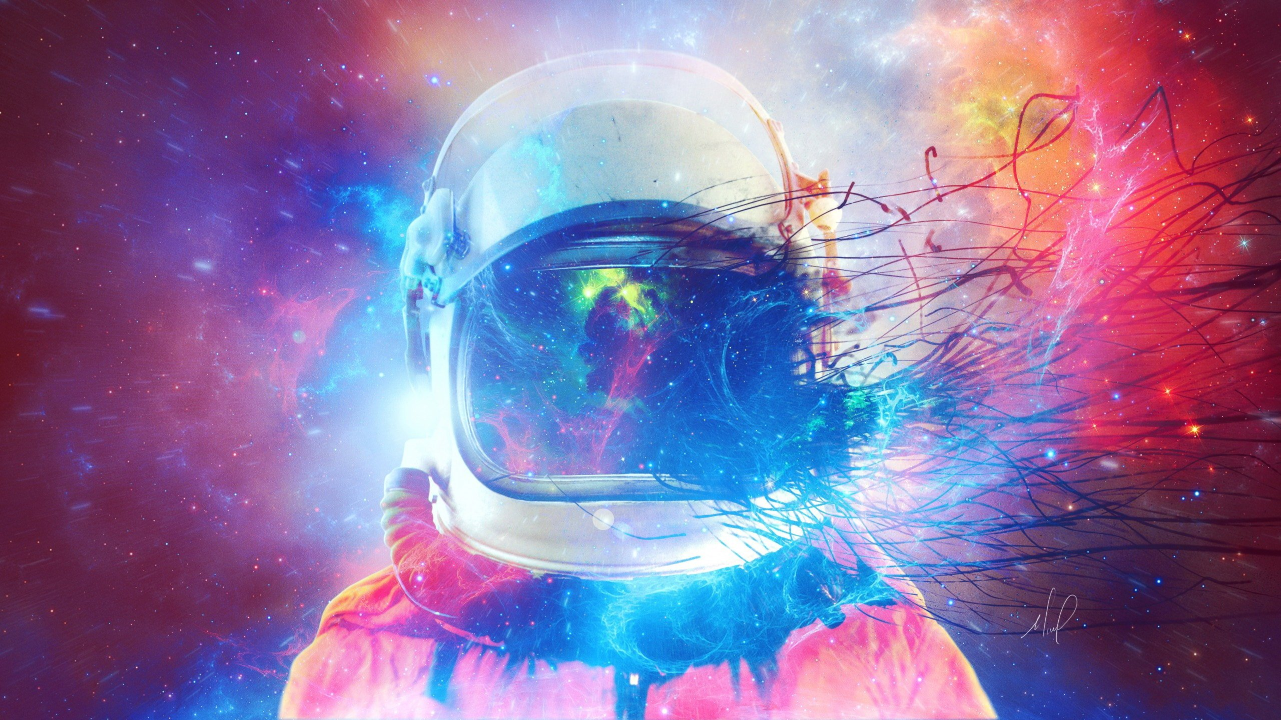 Abstract Astronaut Wallpapers Top Free Abstract Astronaut Backgrounds Wallpaperaccess