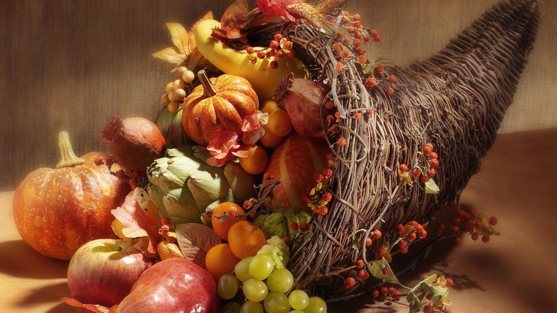 Thanksgiving Cornucopia Wallpapers - Top Free Thanksgiving ...