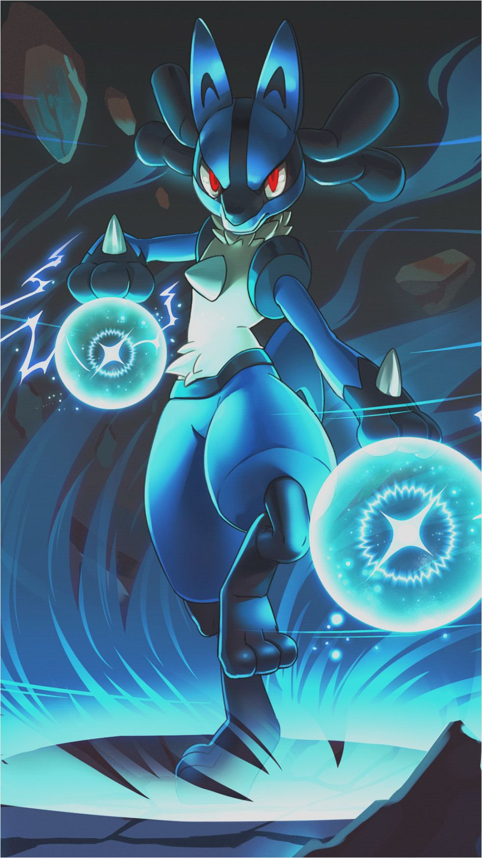 pokemon lucario wallpapers and backgrounds available for download for free Wallpaper Of Pokemon Lucario