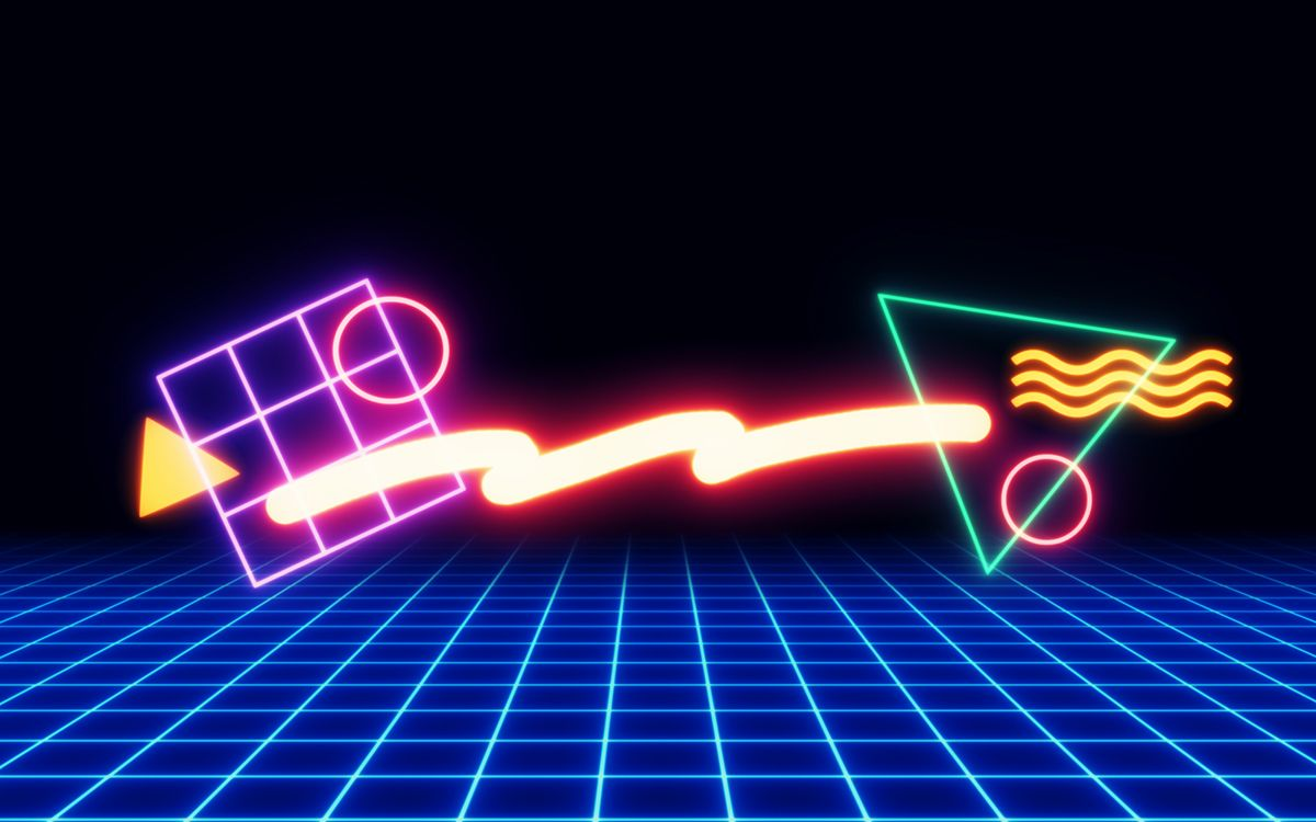 80s Cool Neon Wallpapers - Top Free 80s Cool Neon