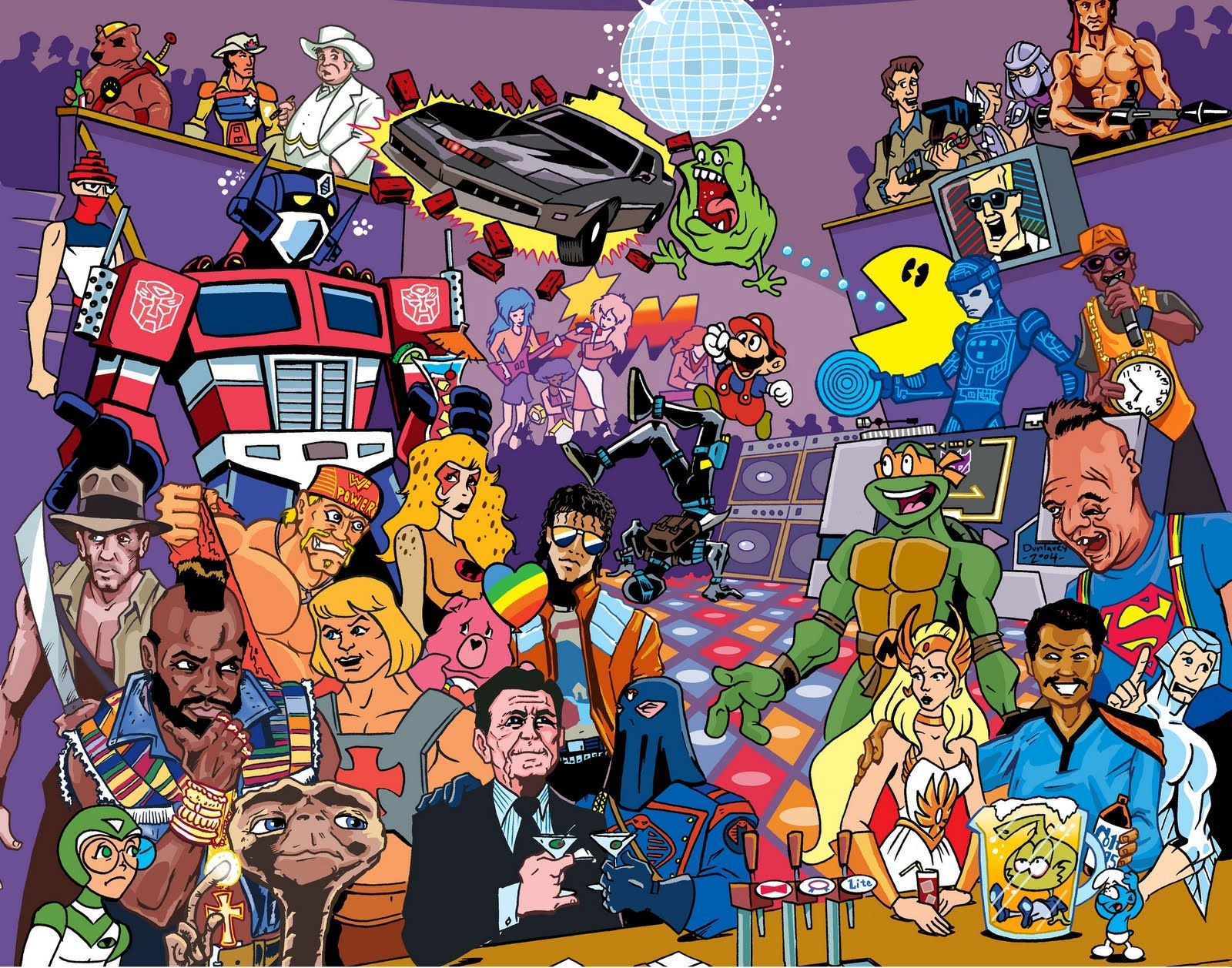 80s Collage Wallpapers Top Free 80s Collage Backgrounds