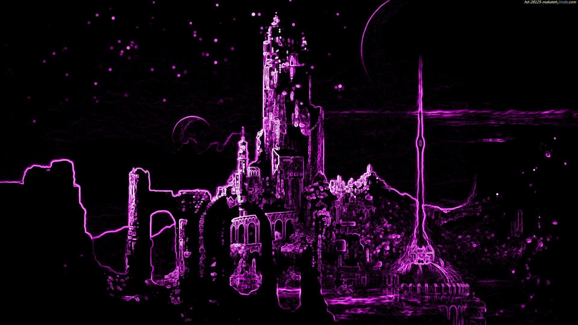 Aesthetic Purple Neon Computer Wallpapers Top Free Aesthetic Purple Neon Computer Backgrounds Wallpaperaccess