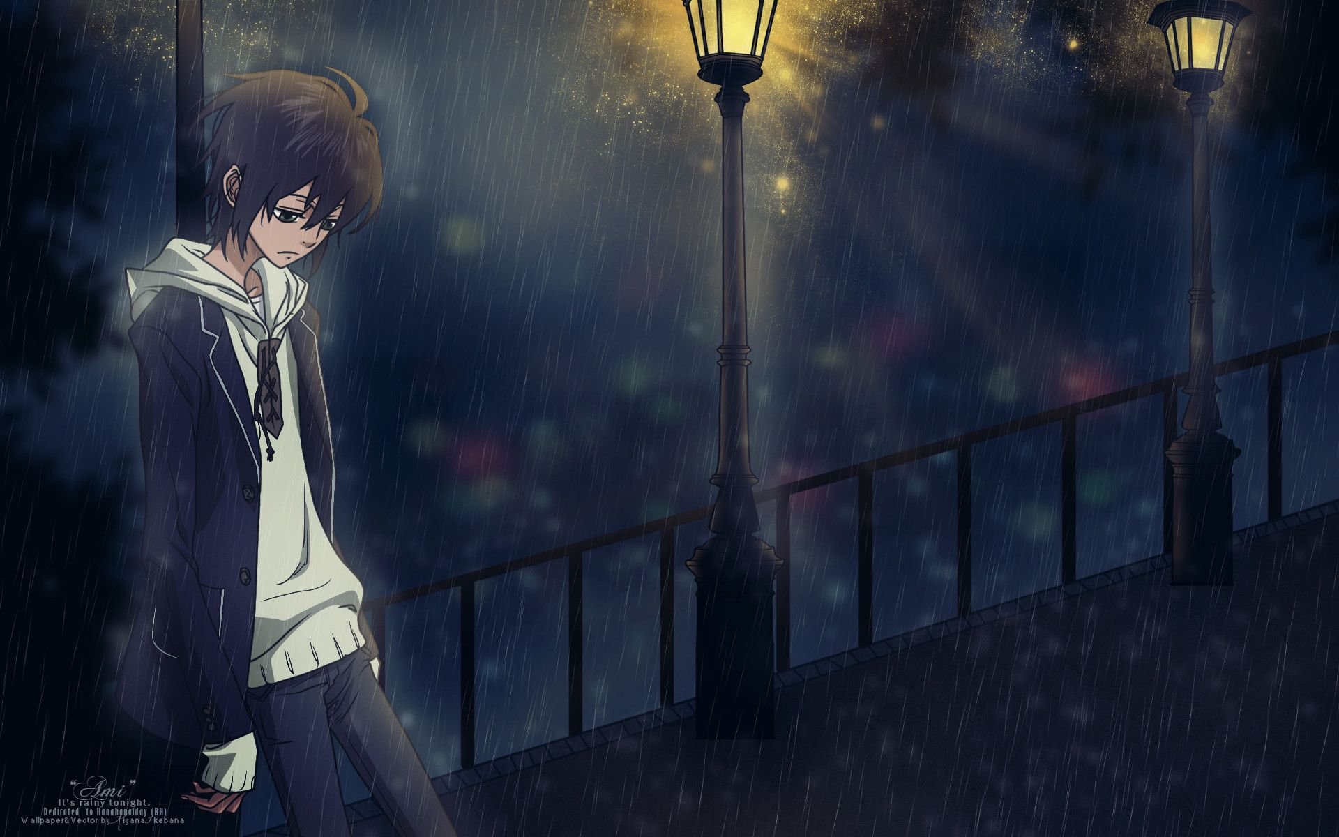 Rain Sad Anime Wallpapers Top Free Rain Sad Anime Backgrounds