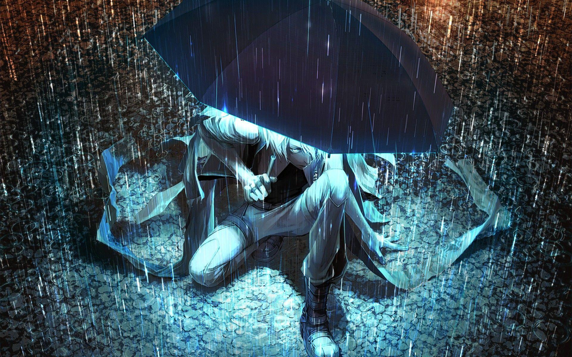 Rain Sad Anime Wallpapers Top Free Rain Sad Anime