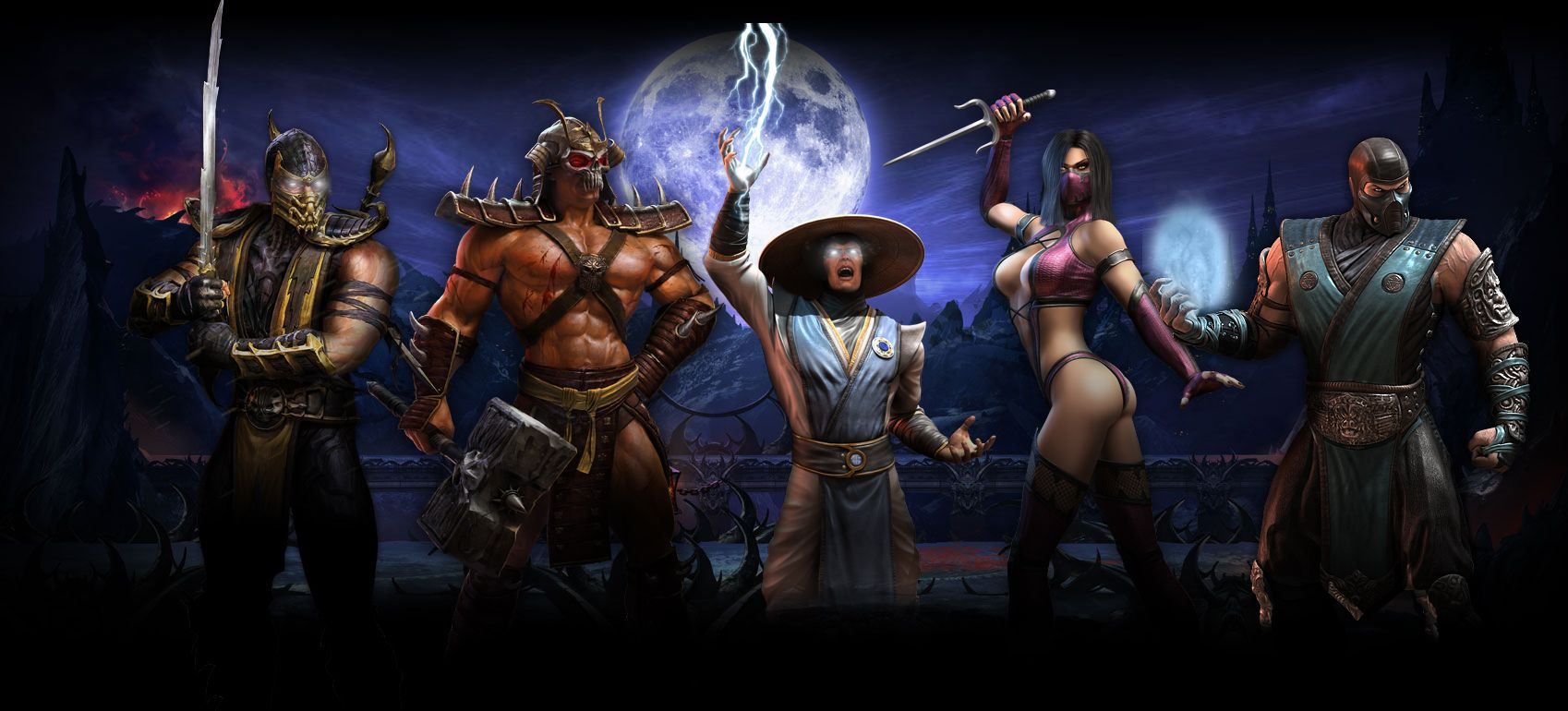 Mortal Kombat 2 Wallpapers - Top Free Mortal Kombat 2