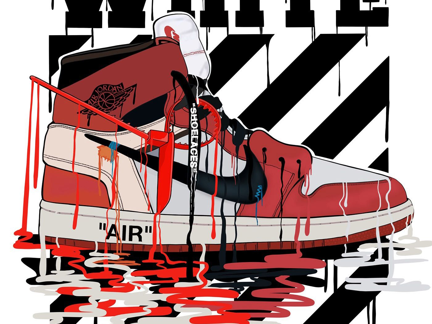 Off White Nike Wallpapers - Top Free