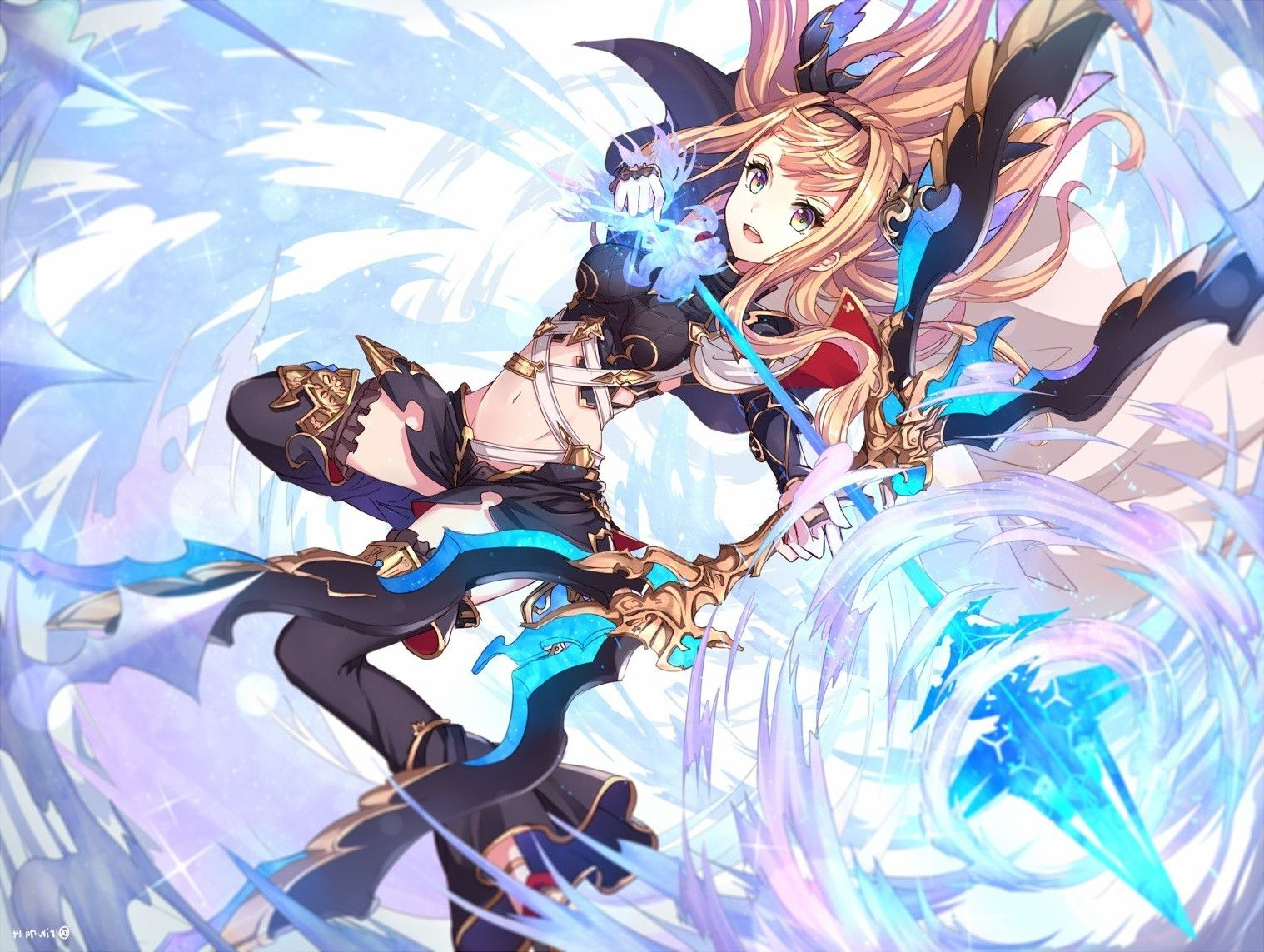 Granblue Fantasy Wallpapers Top Free Granblue Fantasy Backgrounds Wallpaperaccess