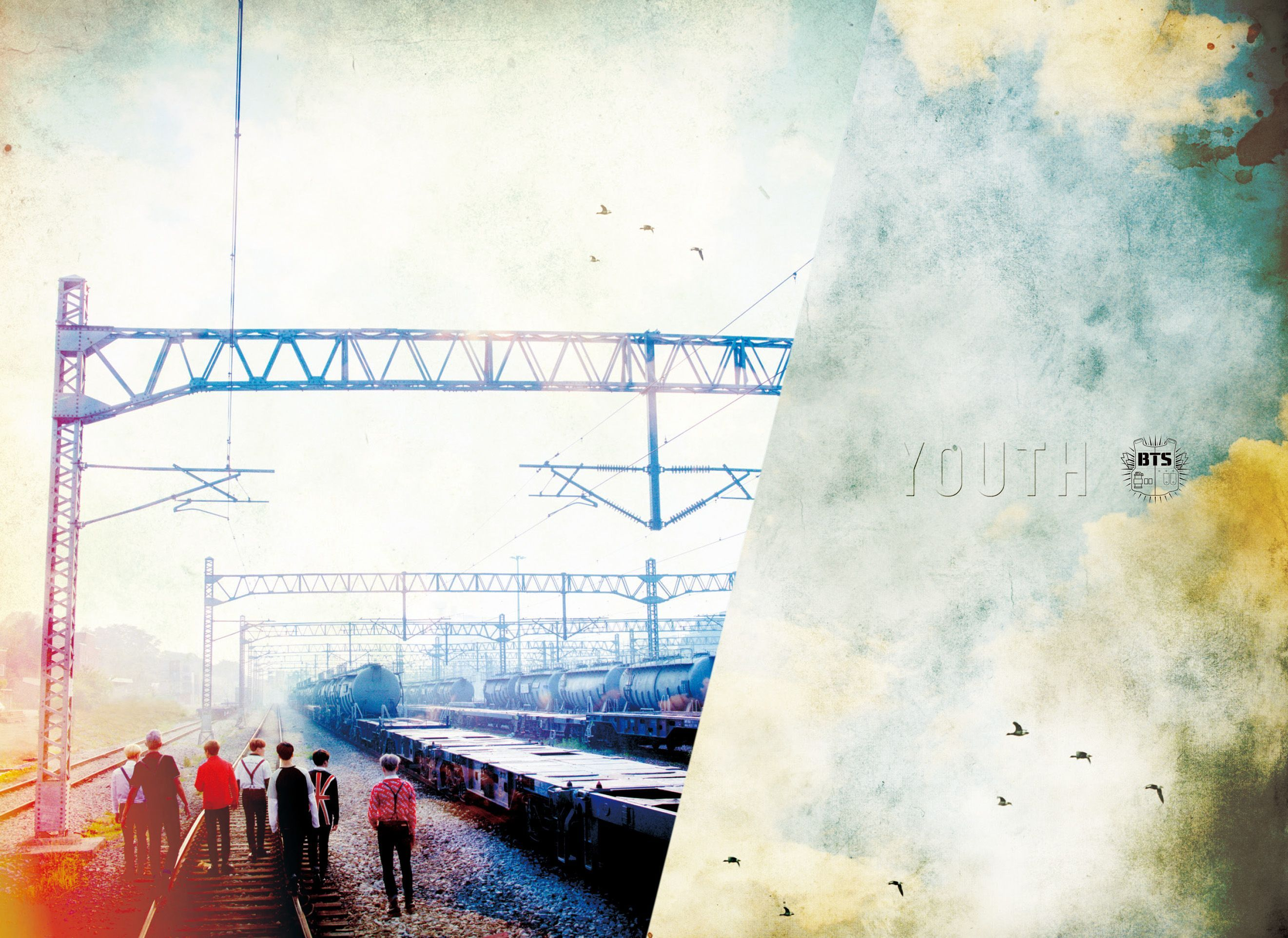 Bts Youth Wallpapers Top Free Bts Youth Backgrounds Wallpaperaccess