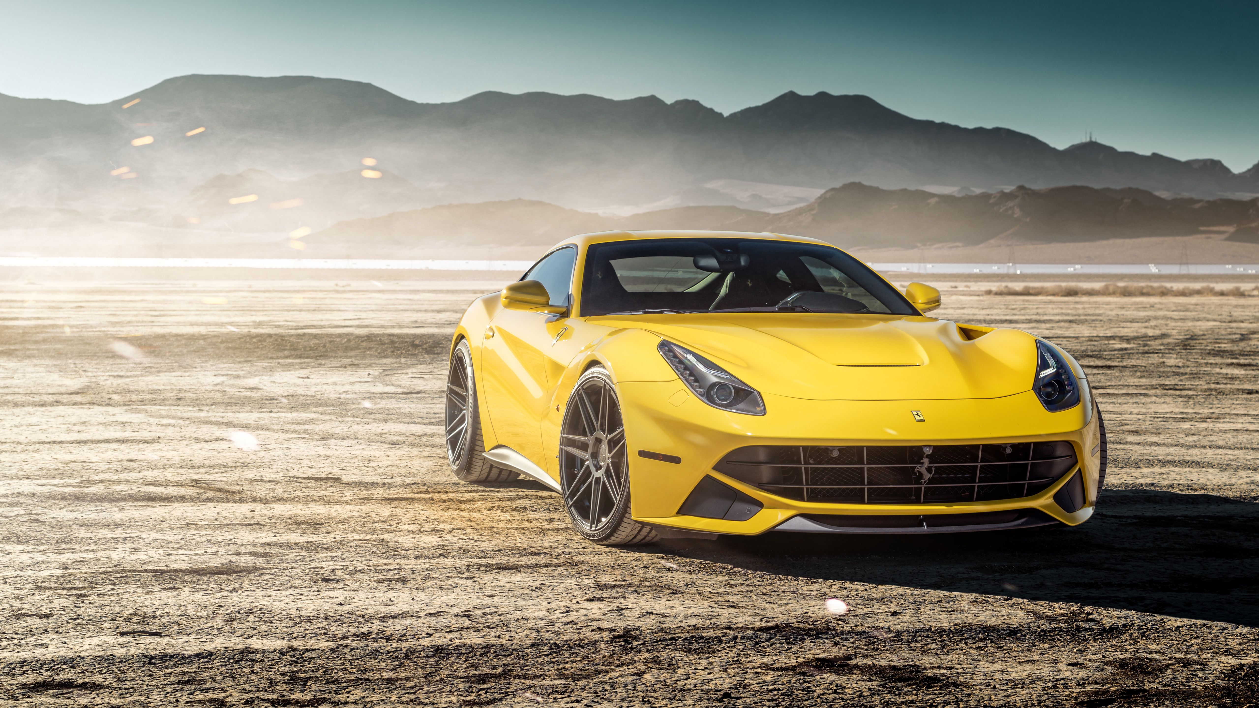 Yellow Ferrari Wallpapers Top Free Yellow Ferrari Backgrounds Wallpaperaccess