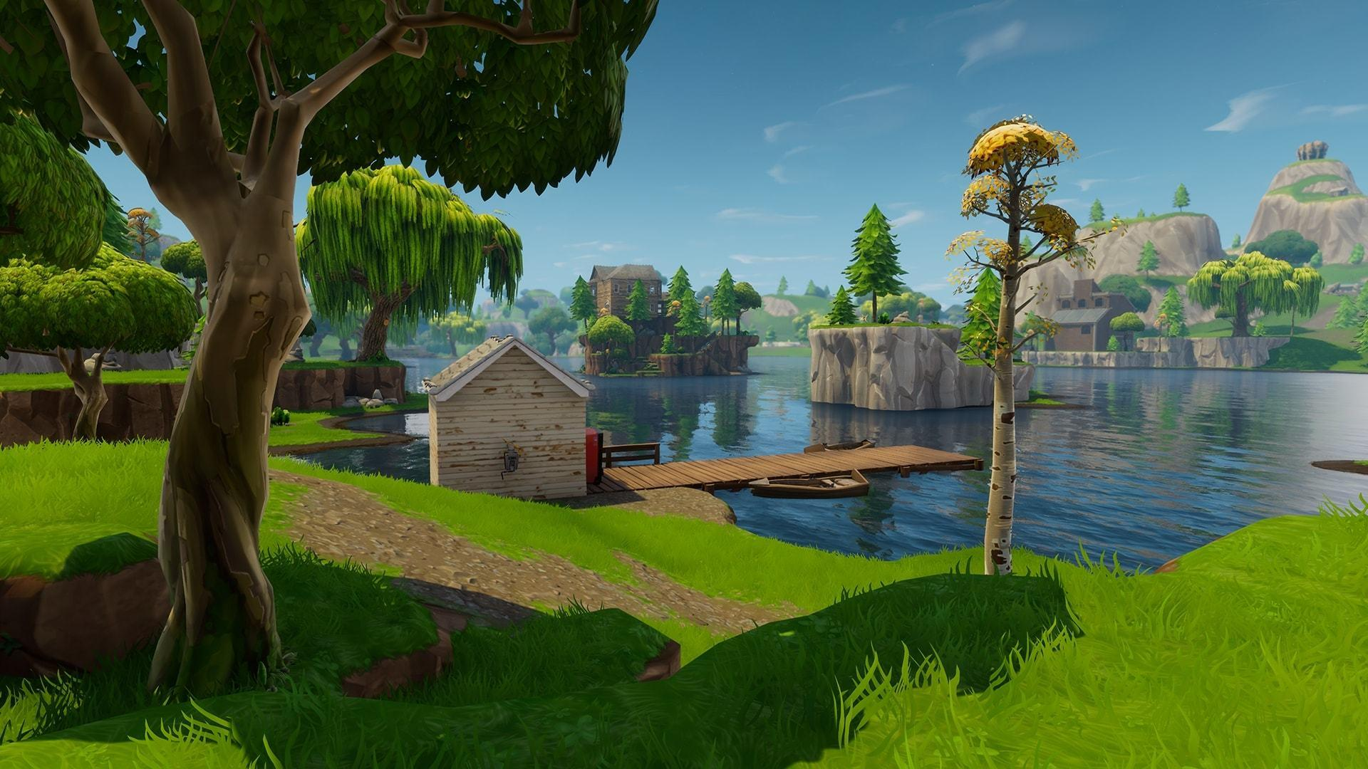 Fortnite Locations Wallpapers Top Free Fortnite Locations Backgrounds Wallpaperaccess