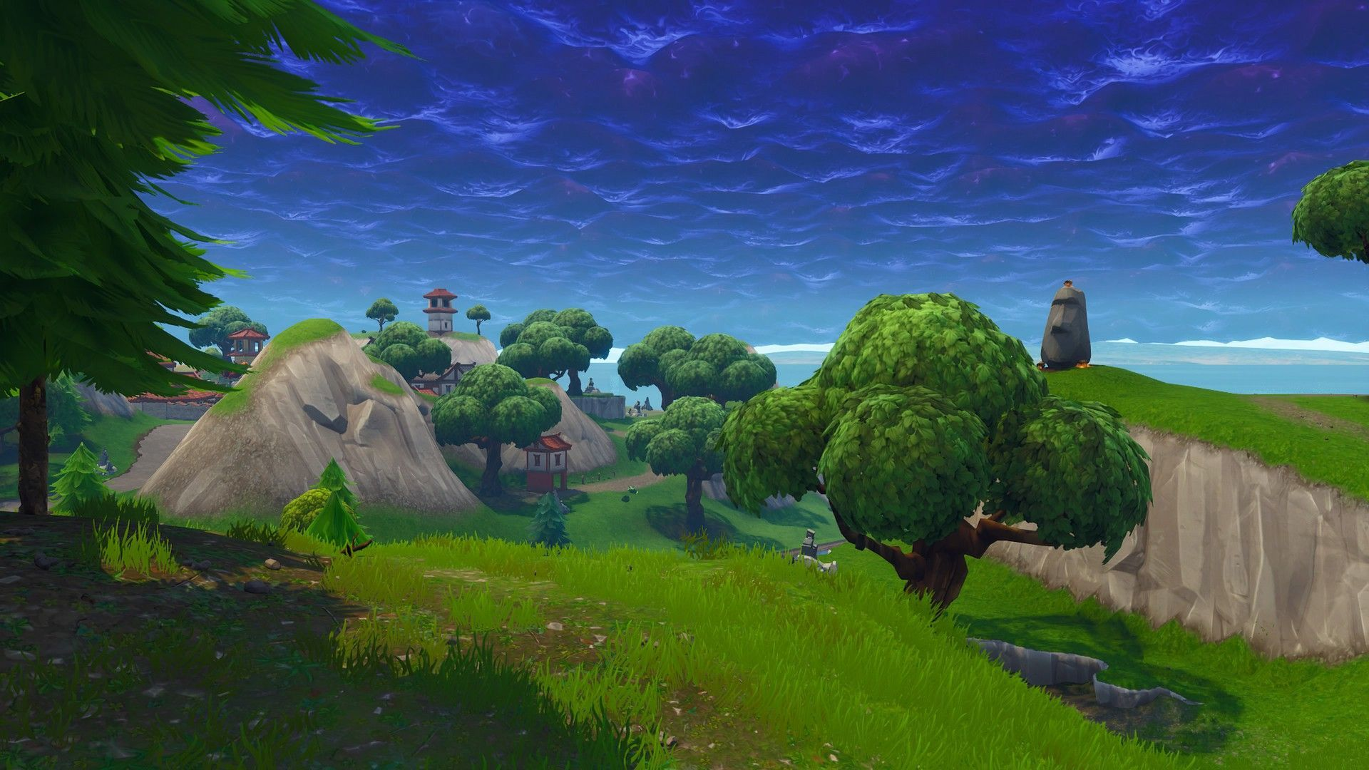 Fortnite Scenery Wallpapers Top Free Fortnite Scenery Backgrounds Wallpaperaccess