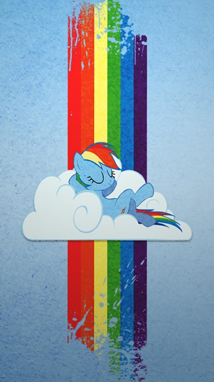 Iphone Mlp Rainbow Dash Wallpaper