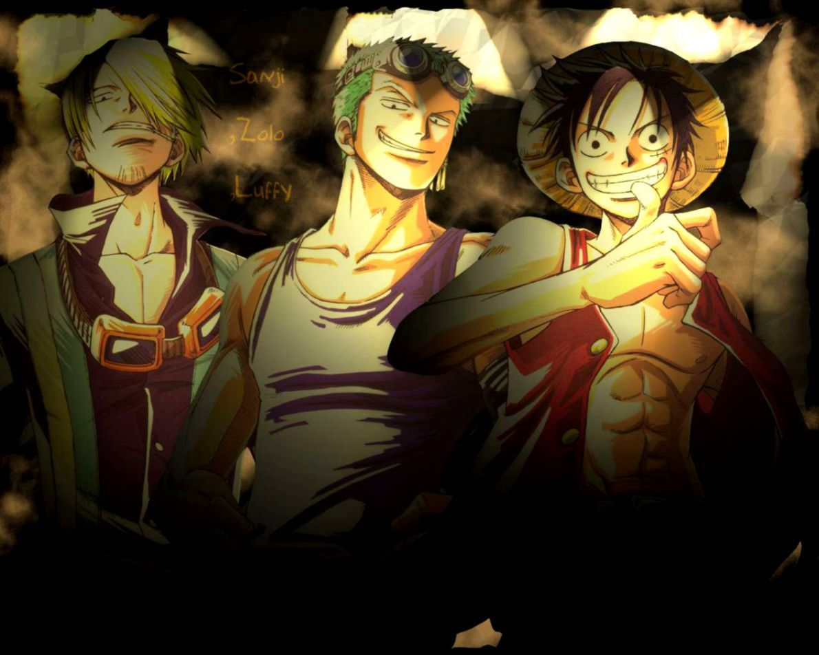 Luffy Zoro Sanji Wallpapers Top Free Luffy Zoro Sanji Backgrounds Wallpaperaccess