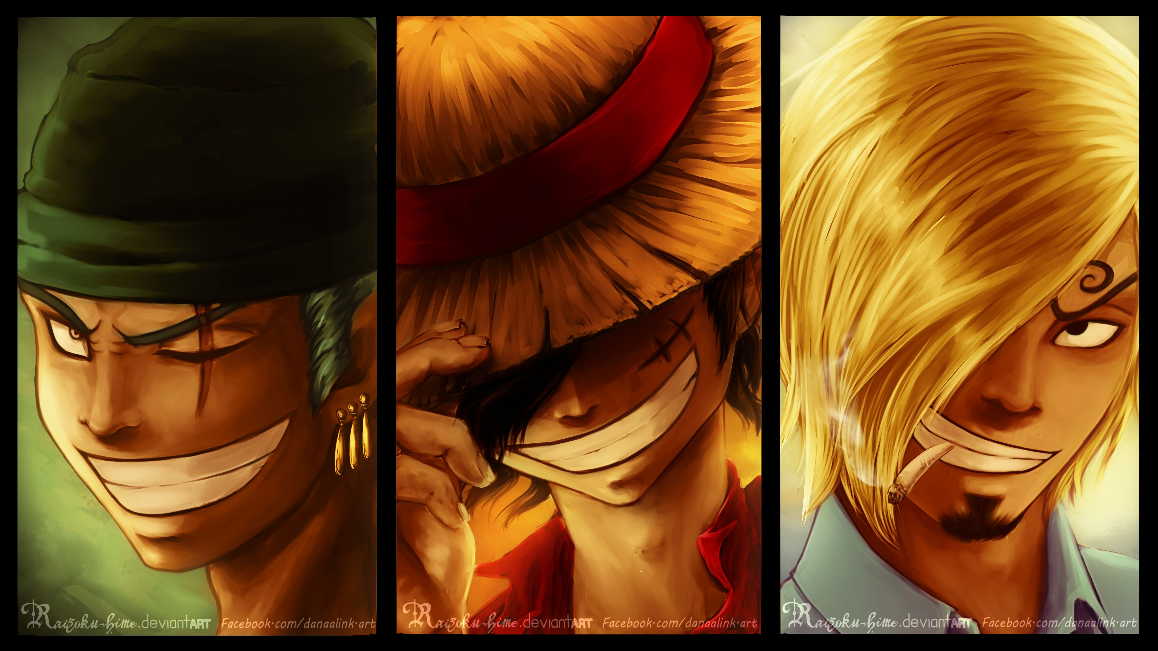 Luffy Zoro Sanji Wallpapers Top Free Luffy Zoro Sanji Backgrounds Wallpaperaccess