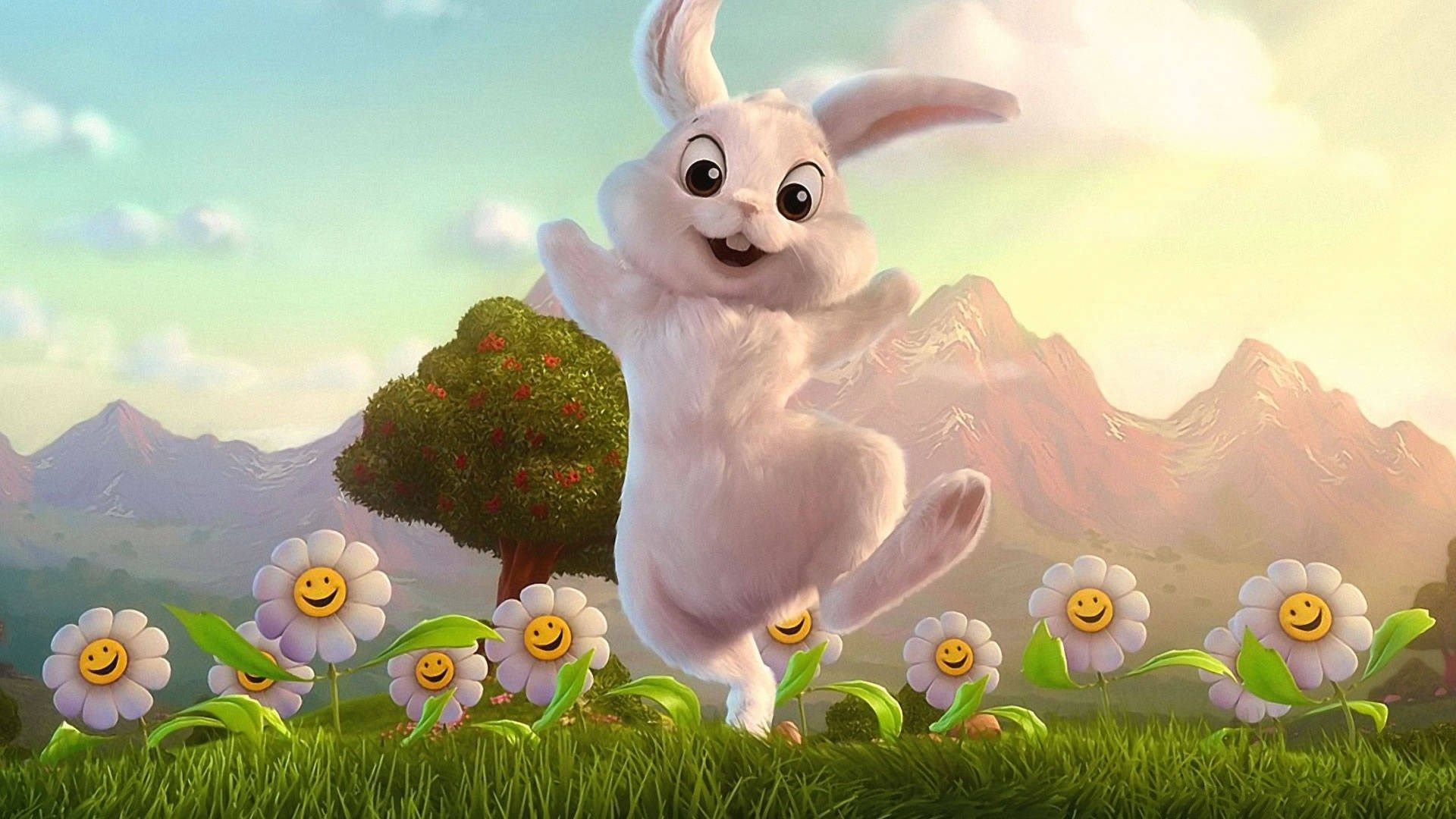3d Bunny Wallpapers Top Free 3d Bunny Backgrounds Wallpaperaccess
