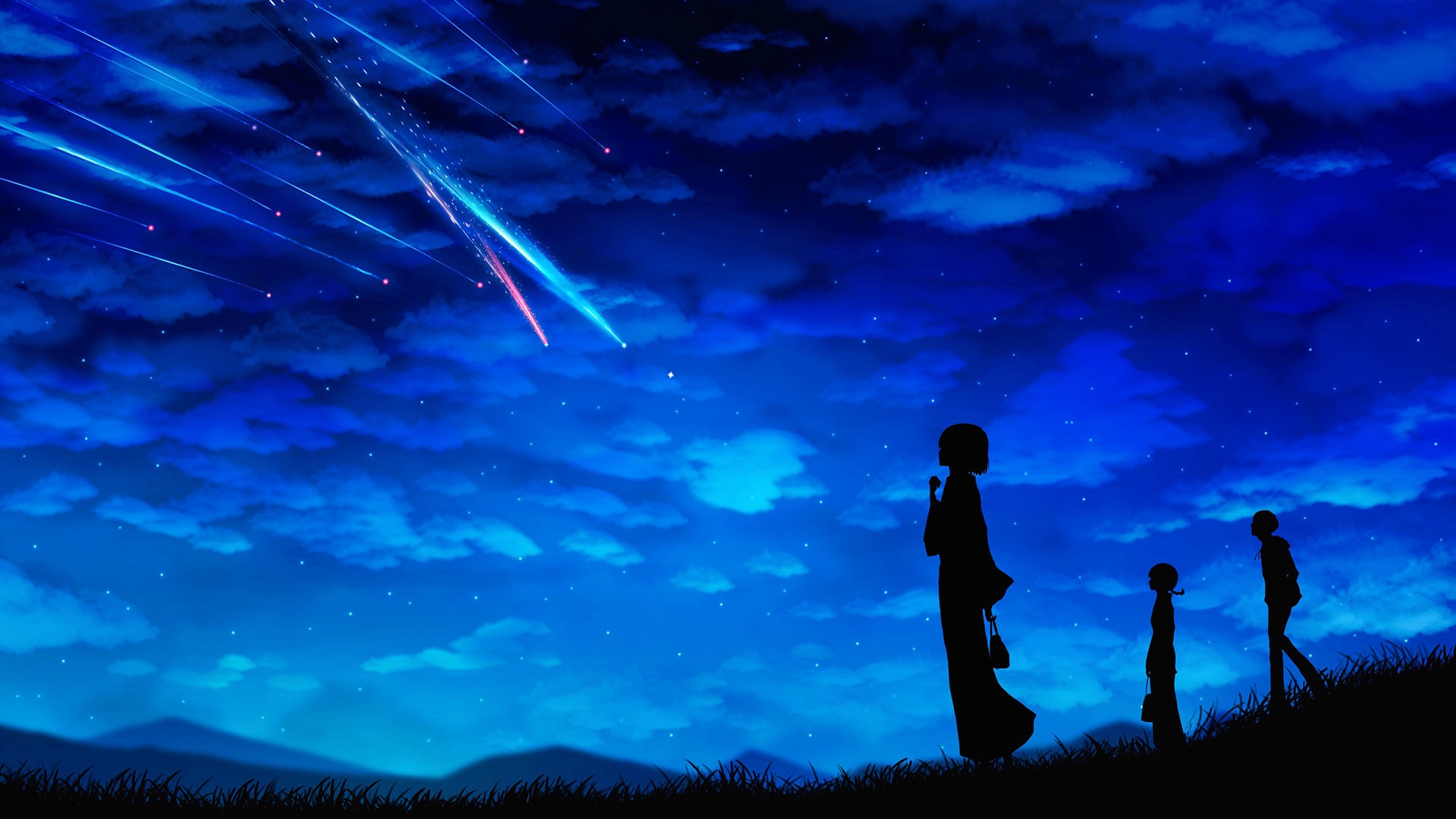 Anime Night Scenery Wallpapers Top Free Anime Night