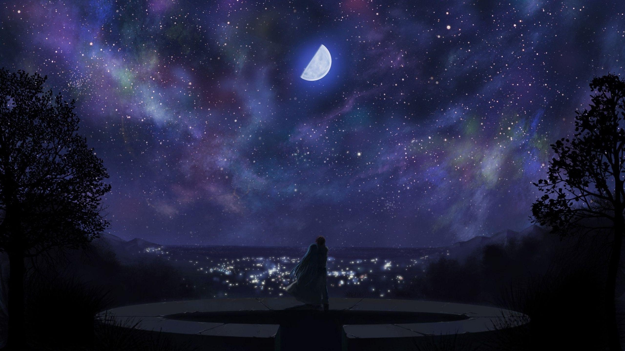 Anime Night Scenery Wallpapers - Top Free Anime Night