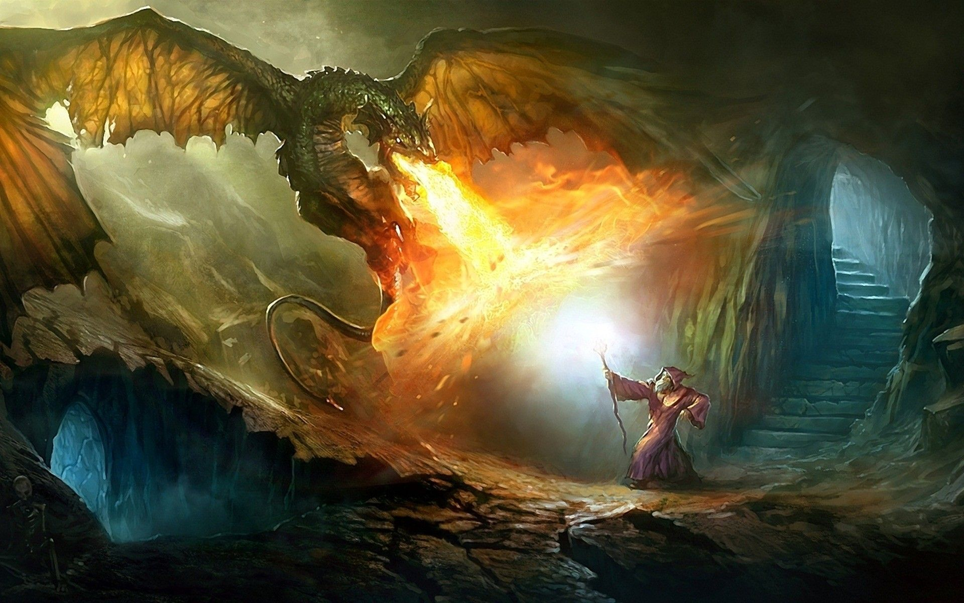 Wizards And Dragons Wallpapers Top Free Wizards And Dragons
