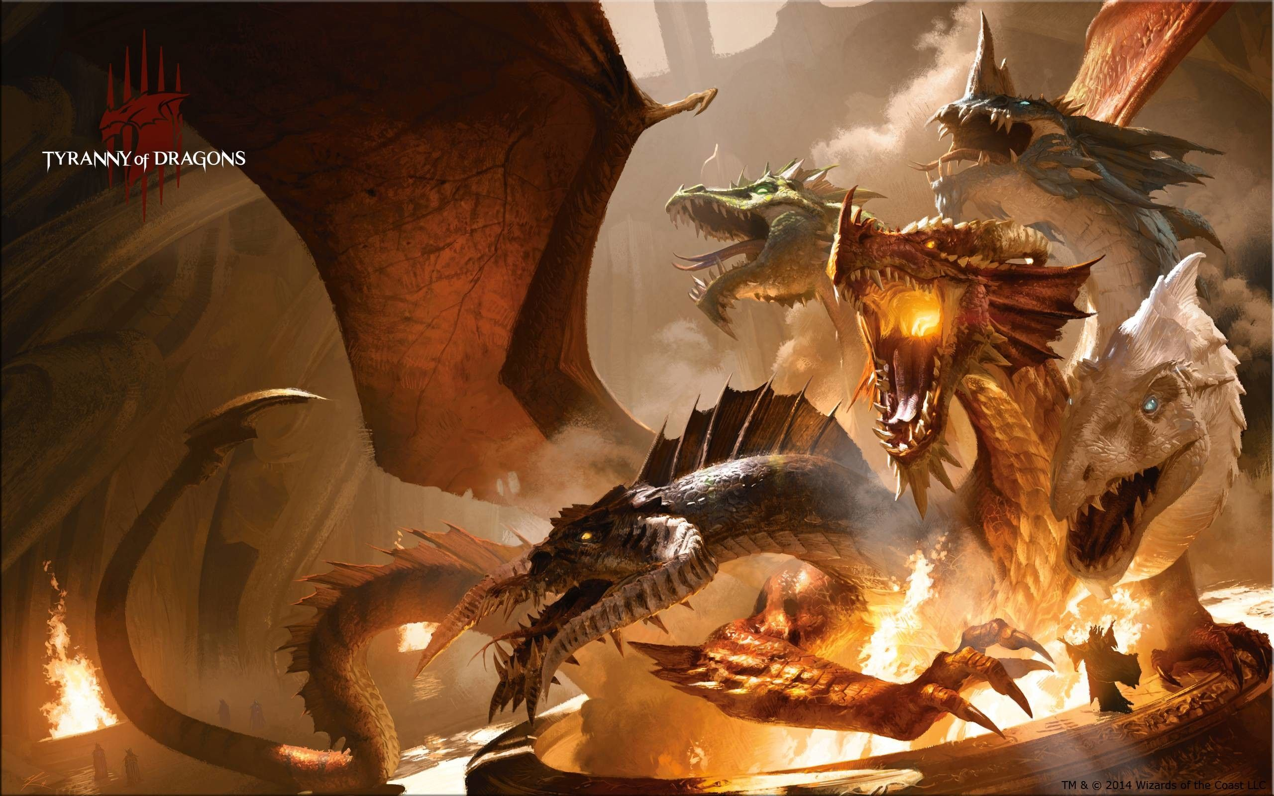 "2560x1600 Wallpaper of the Week: Balefire Dragon | MAGIC: THE GATHERING"">"