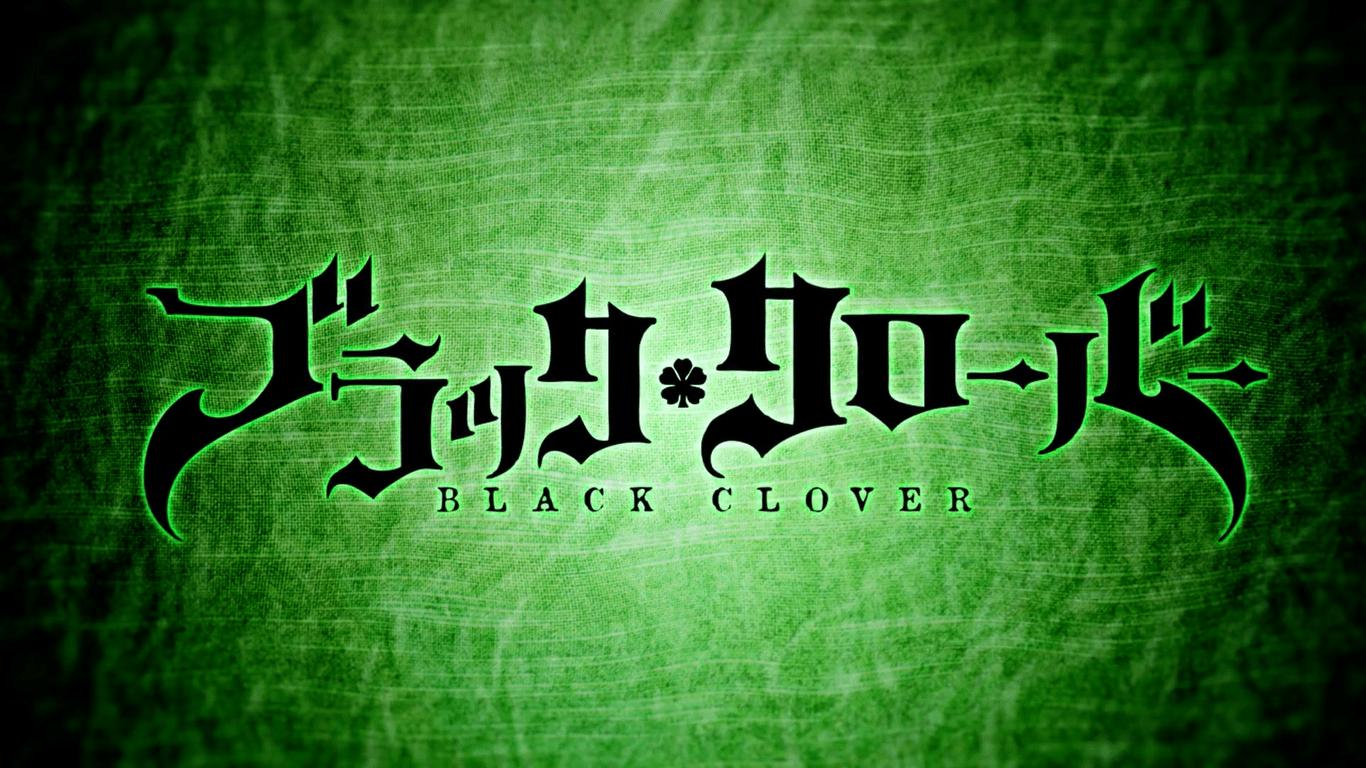 Black Clover Logo Wallpapers - Top Free Black Clover Logo ...