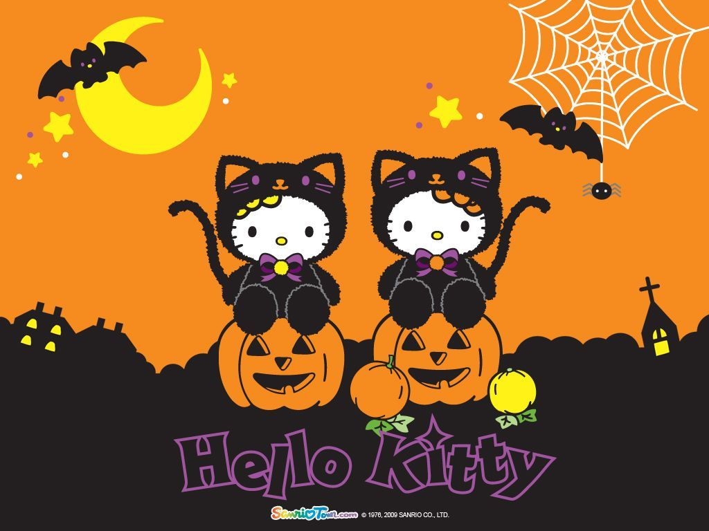 Cute Hello Kitty Halloween Wallpapers Top Free Cute Hello Kitty