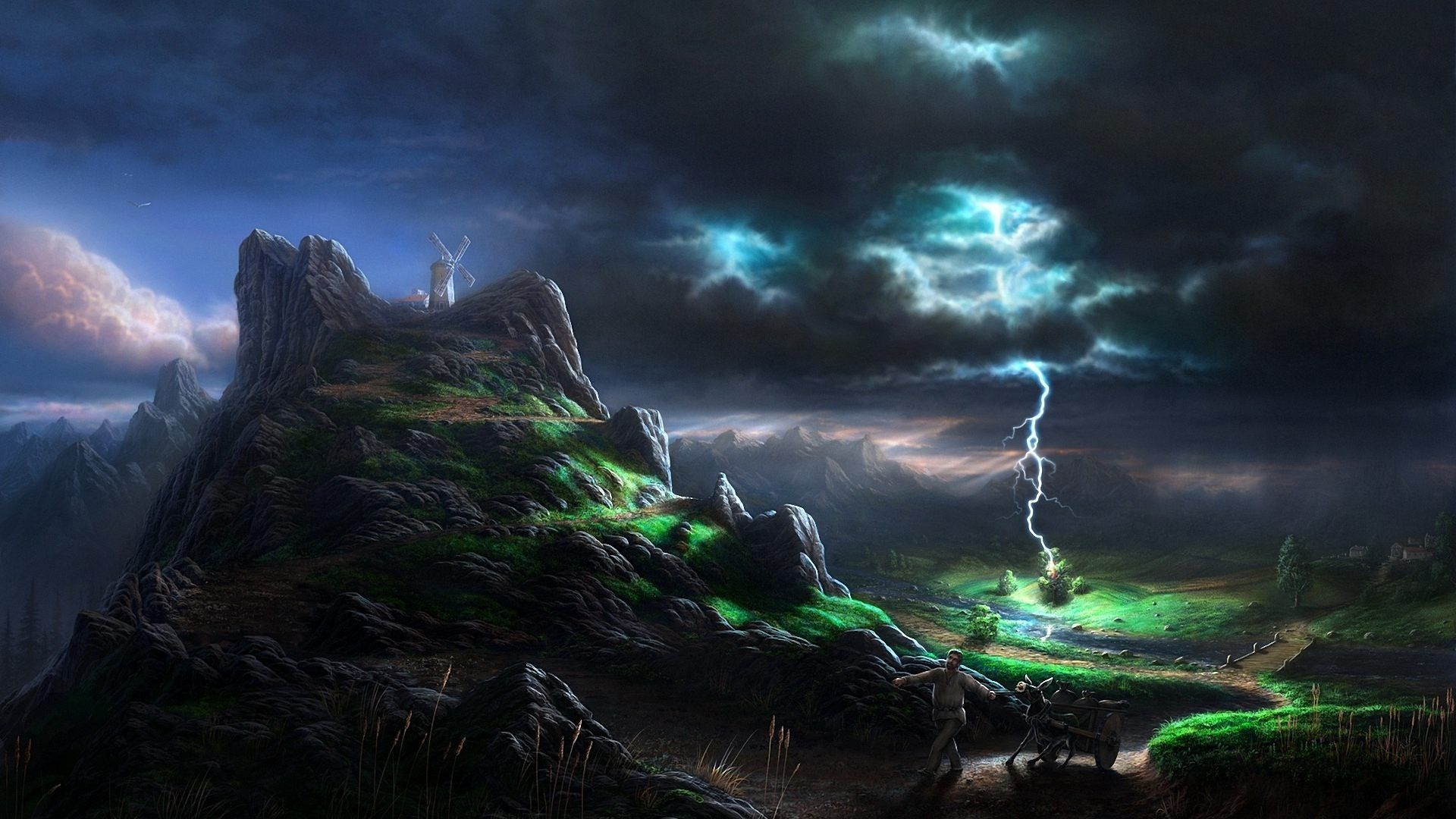 "1920x1080 Lightning Wallpapers HD Group (78+)"">"