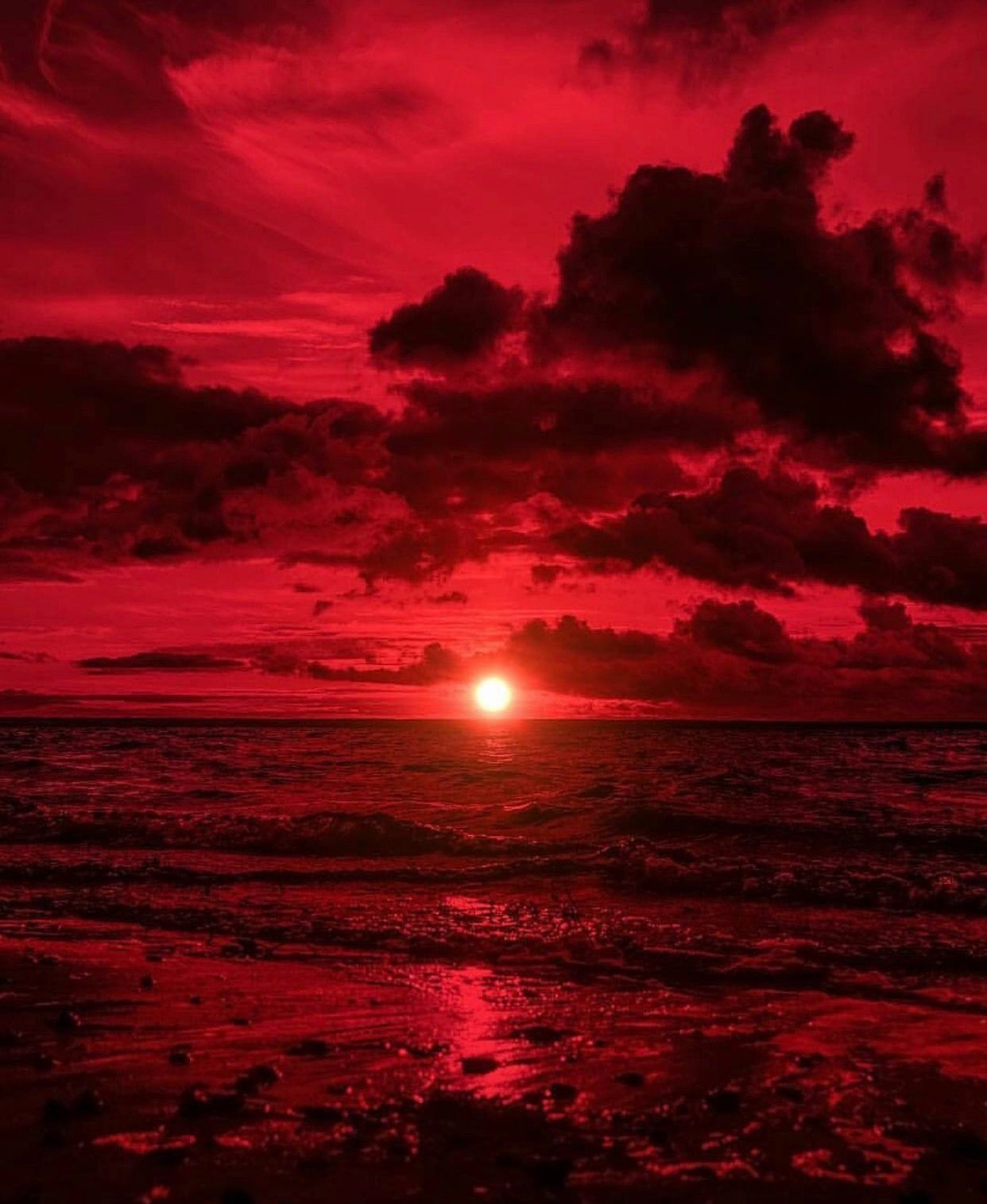 Red Aesthetic Scenic Wallpapers - Top Free Red Aesthetic ...